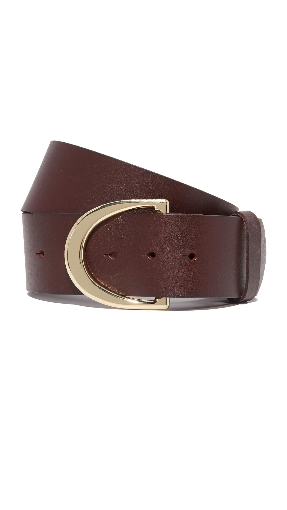 Studded D Ring Belt