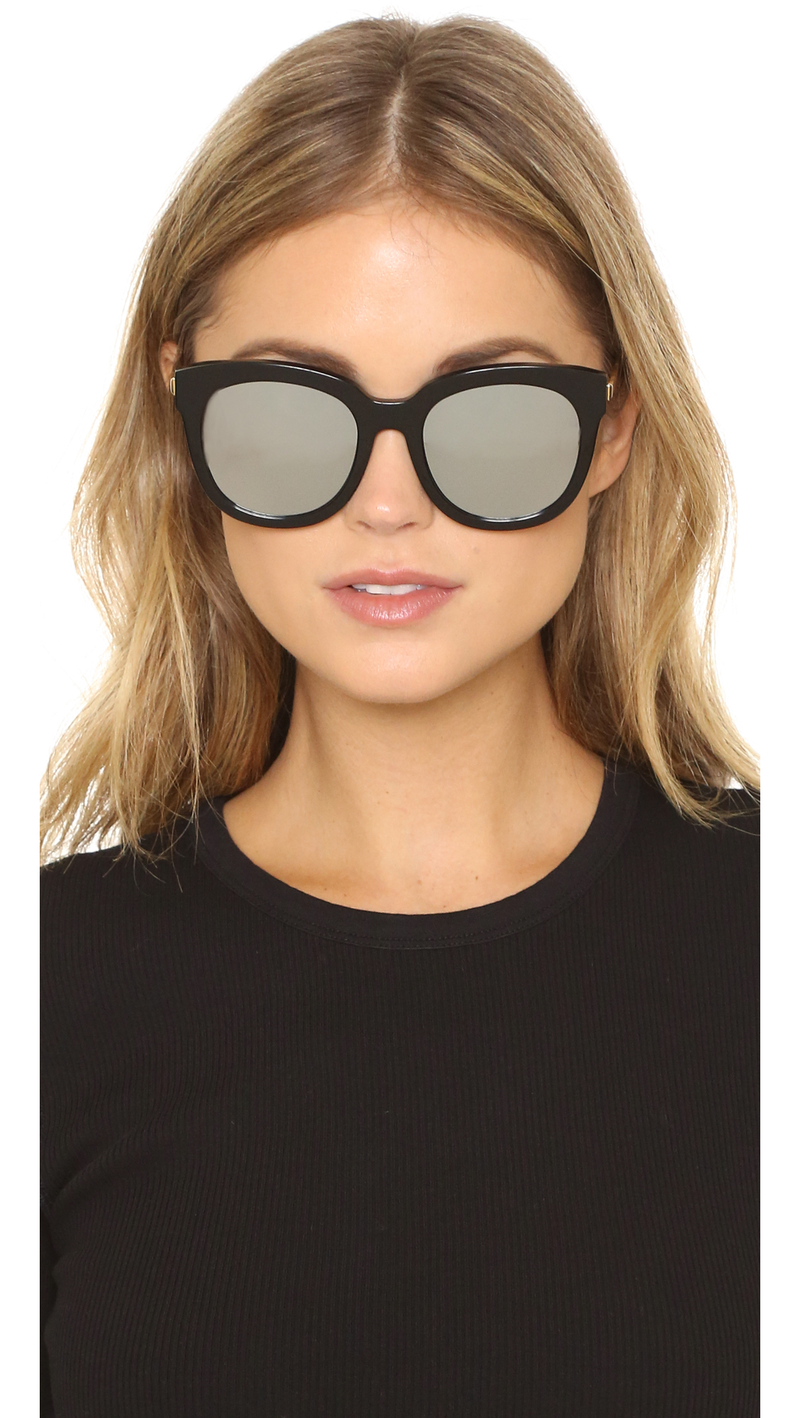 49ce0f5b5cac Gentle Monster Cuba 502 Sunglasses in Black - Lyst