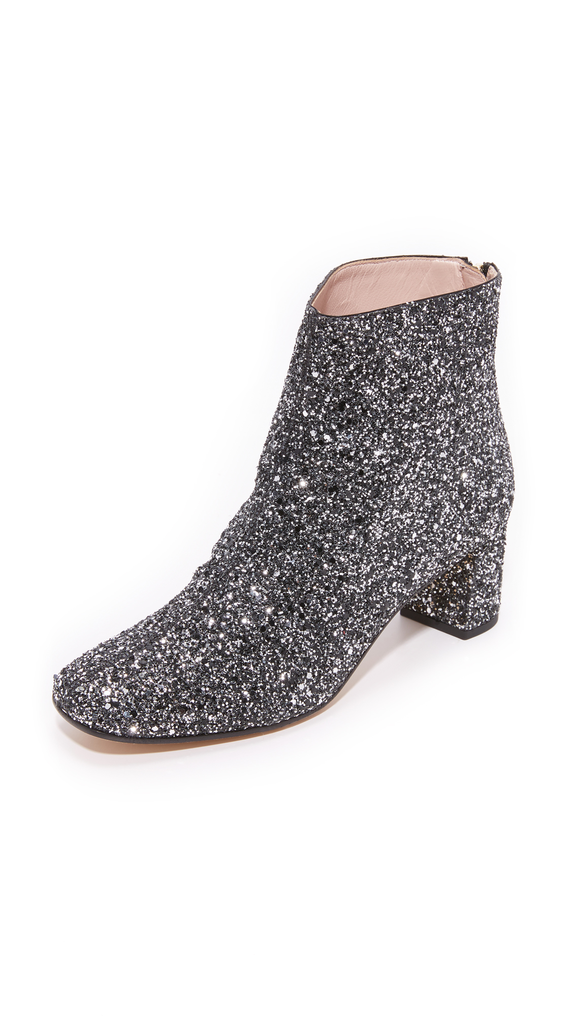 Lyst Kate Spade New York Tal Glitter Booties