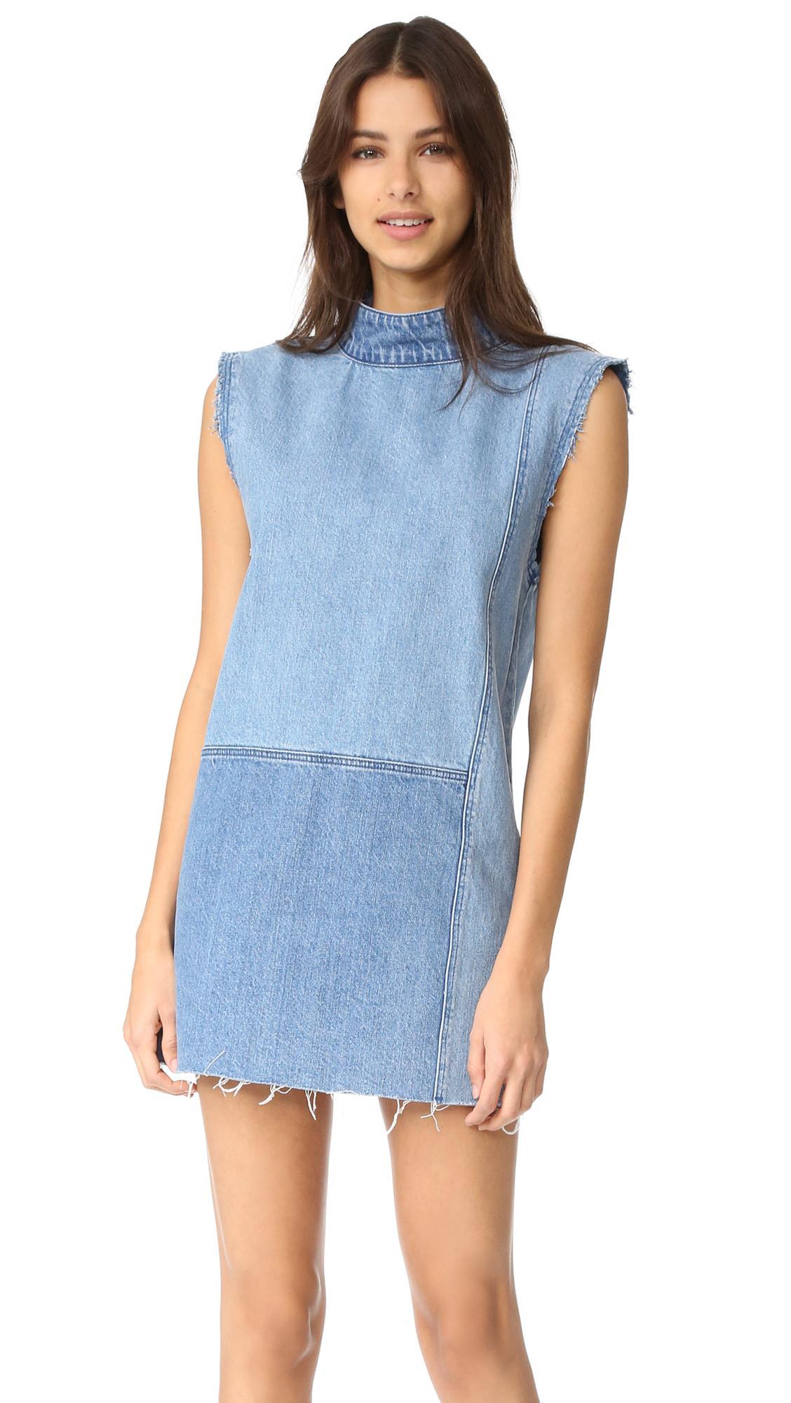 7dd33f3ccff Lyst - Ksubi Shift Dress in Blue