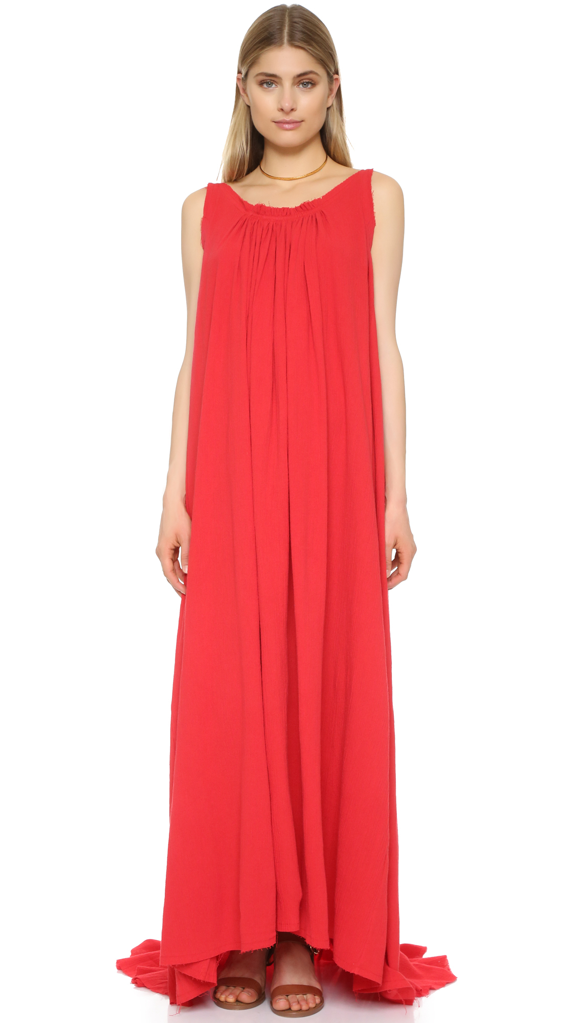 Find cotton red maxi dress at ShopStyle. Shop the latest collection of cotton red maxi dress from the most popular stores - all in one place.