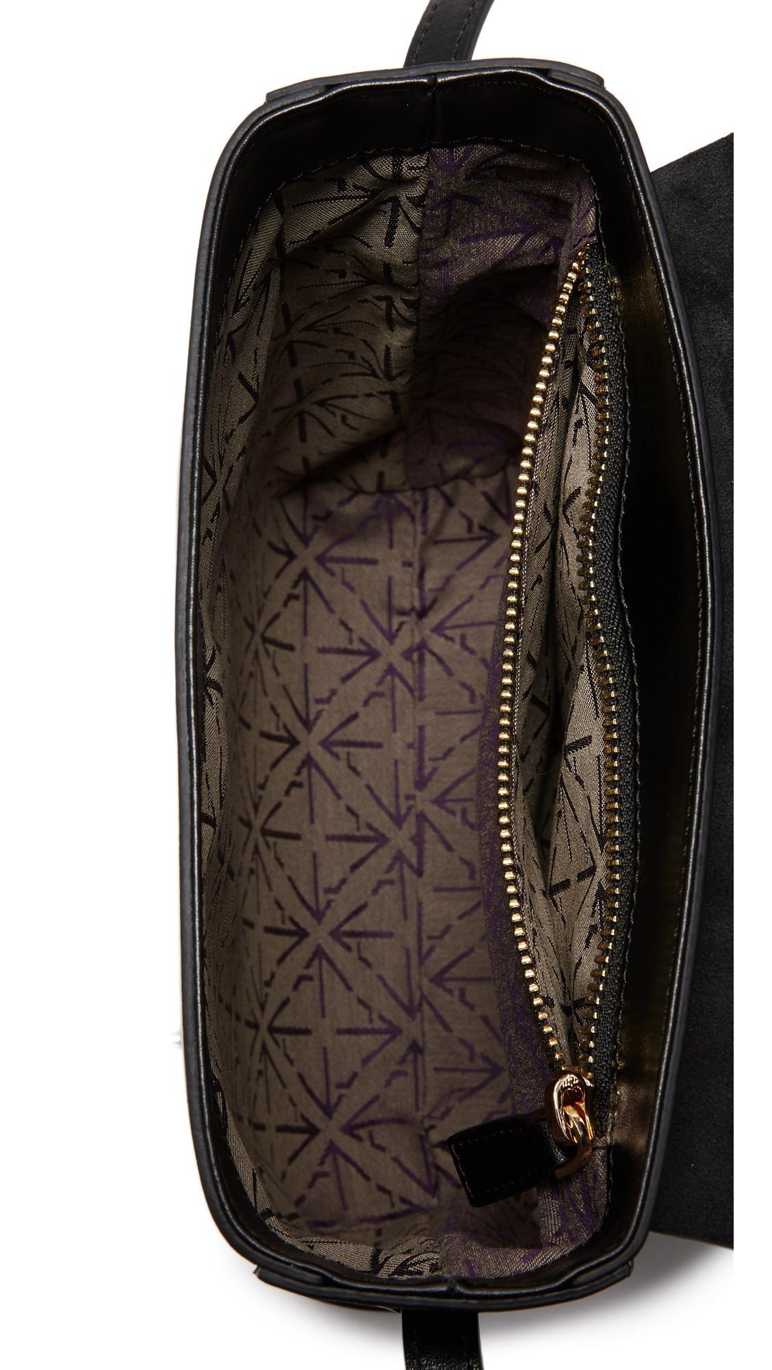 Manu atelier pristine box bag in black lyst for Atelier maison scotch