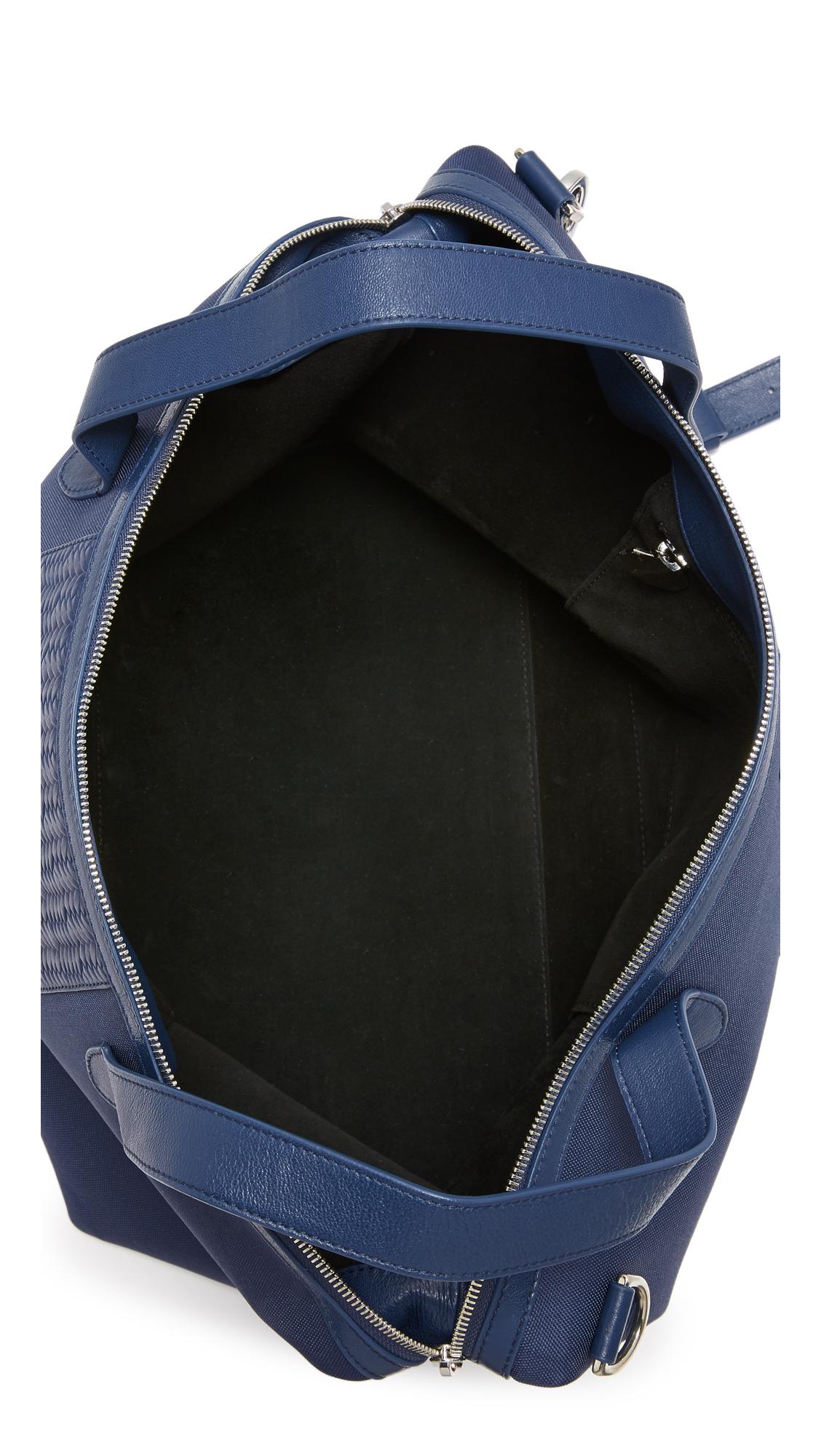 lyst meli melo large thela weekender bag in blue. Black Bedroom Furniture Sets. Home Design Ideas