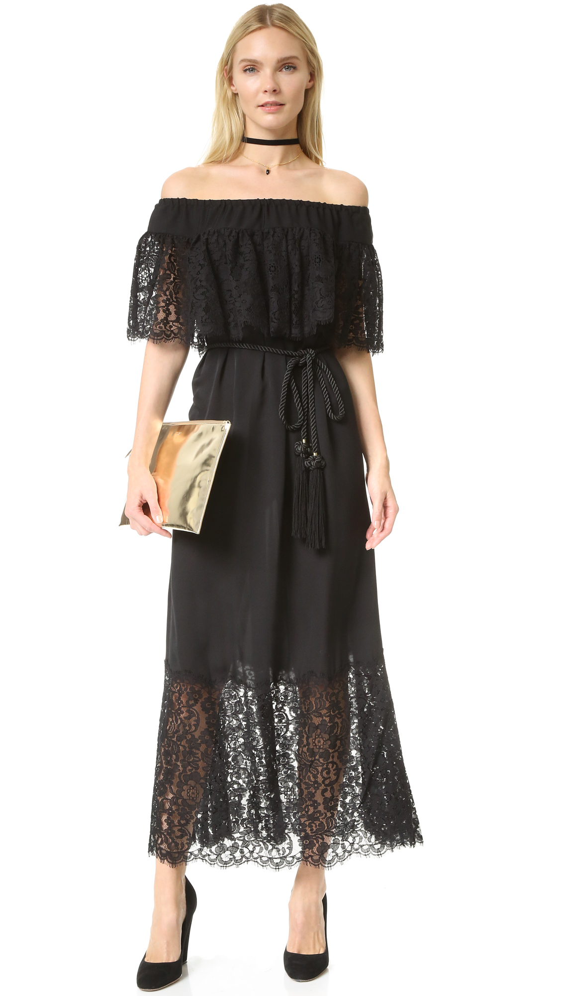Rachel zoe Pila Dress in Black