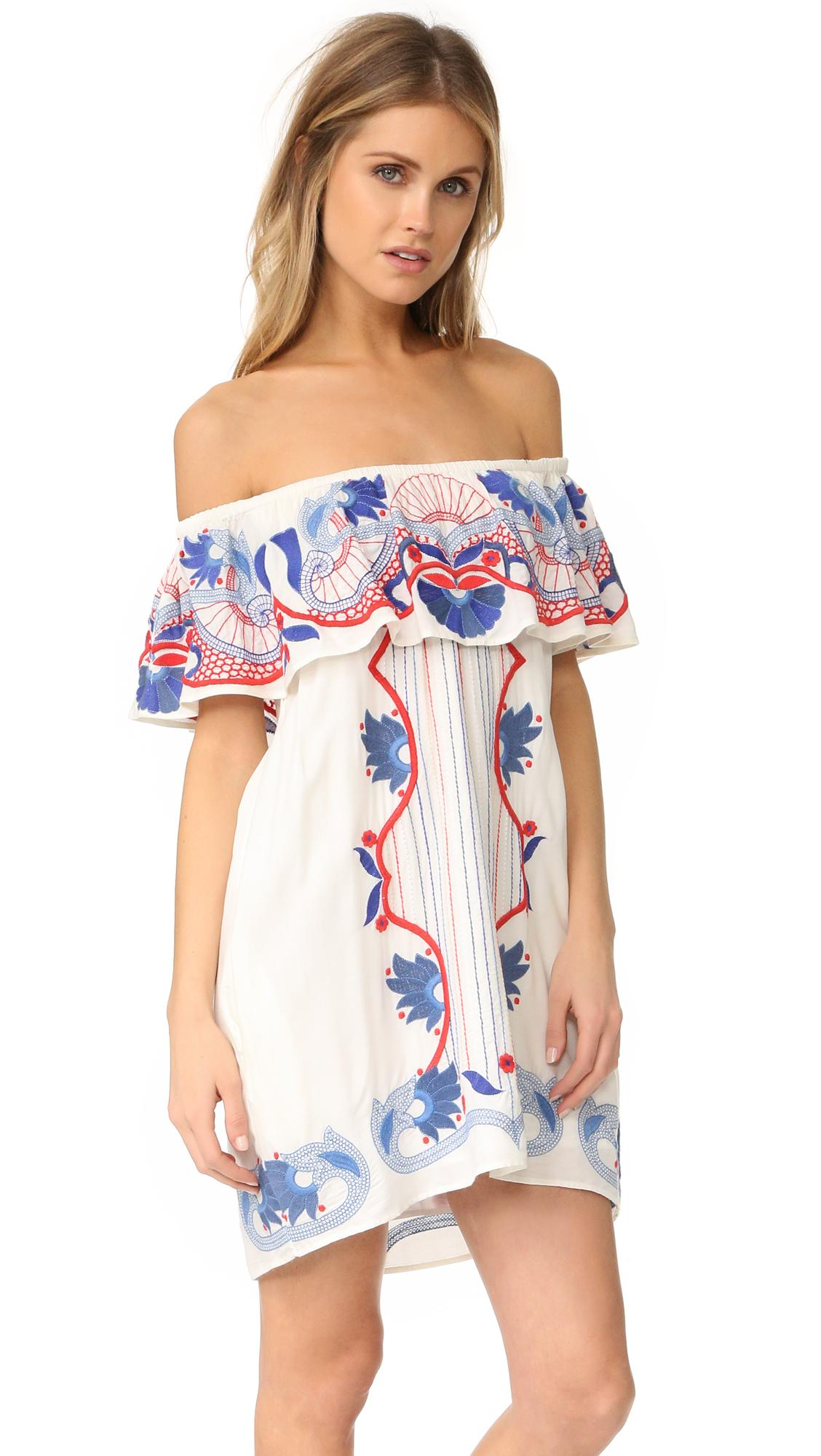 Lyst Red Carter Adelaide Dress In White