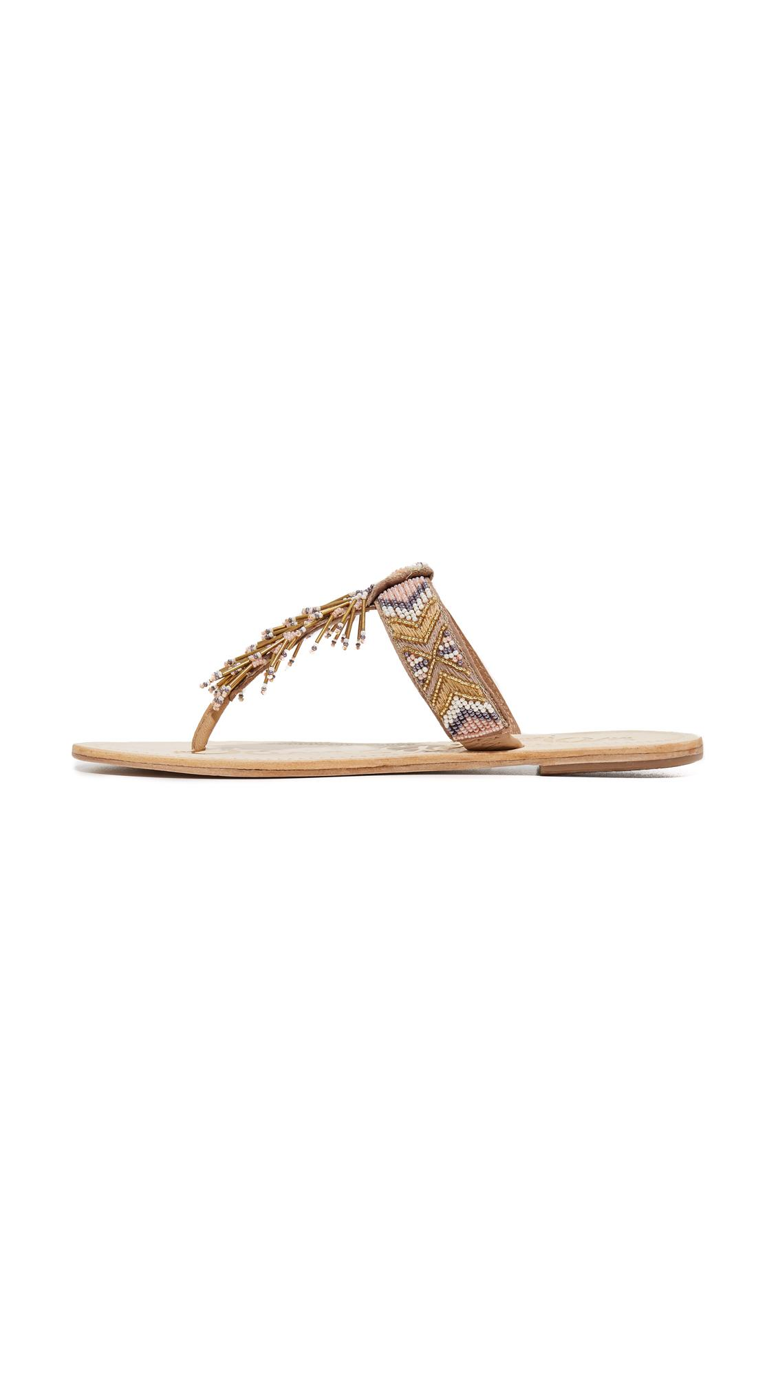 5d7b53ea4d1d7d Lyst - Sam Edelman Anella Beaded Sandals
