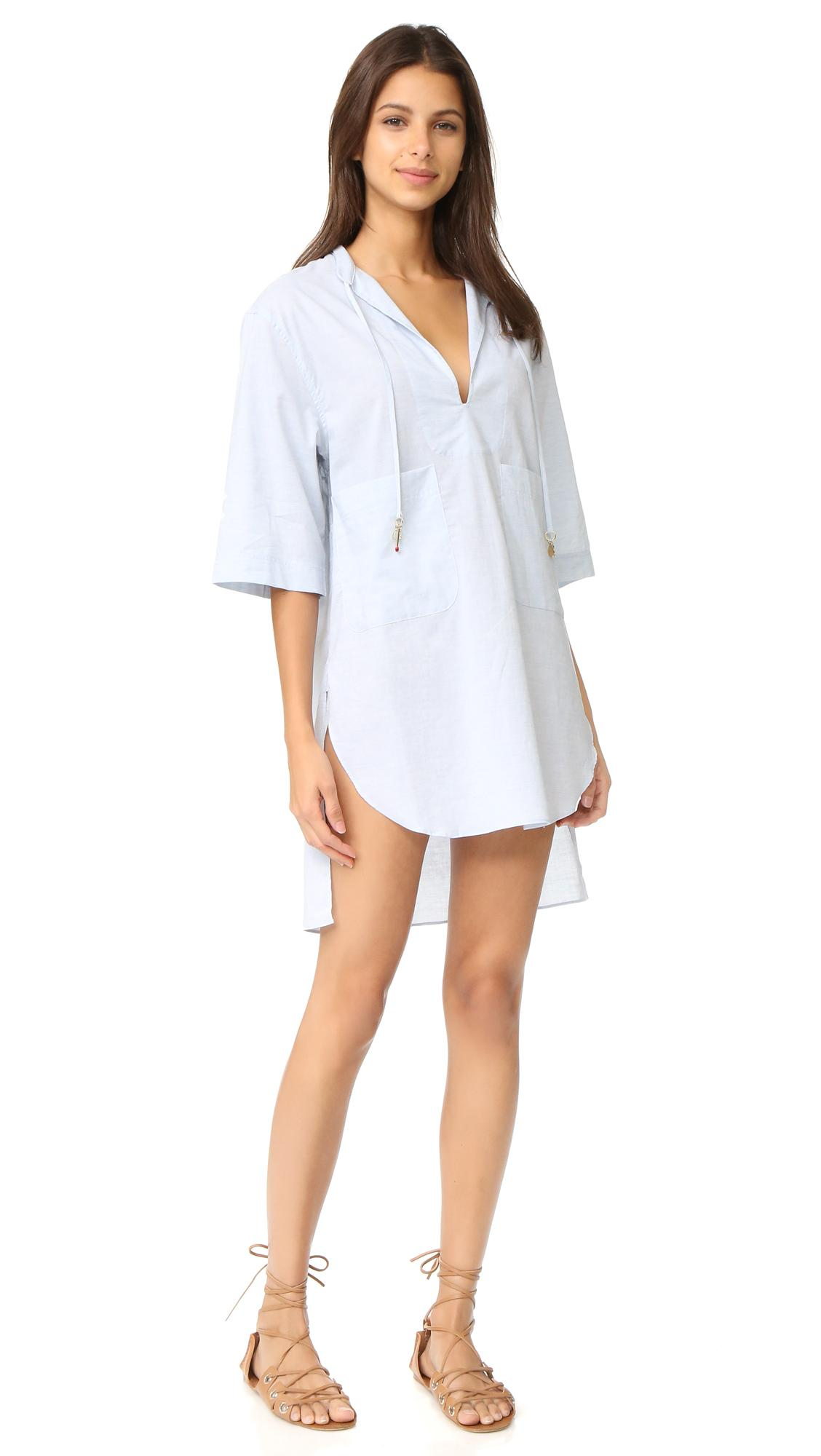 Stella mccartney Cover Up in Blue | Lyst