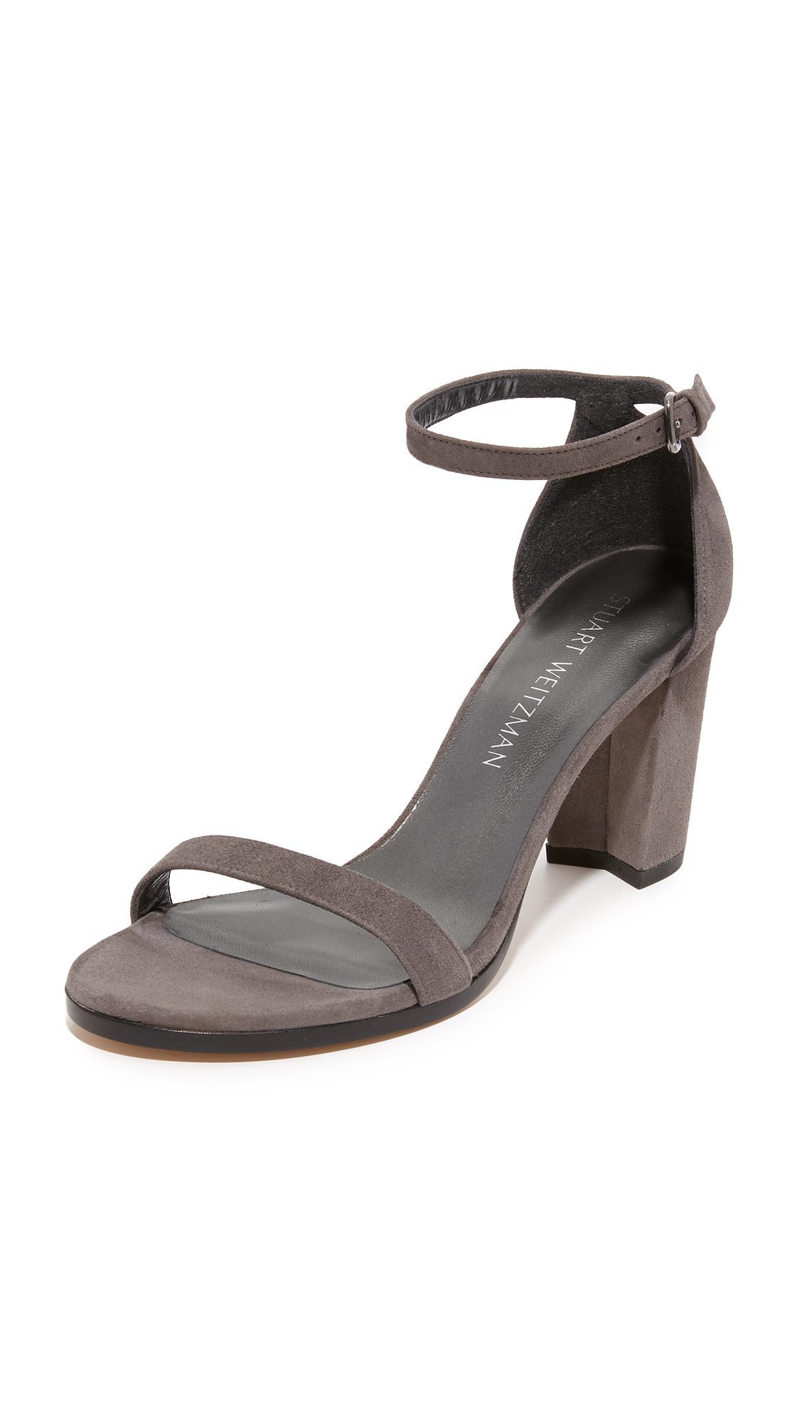 Stuart weitzman Nearlynude Sandals in Gray