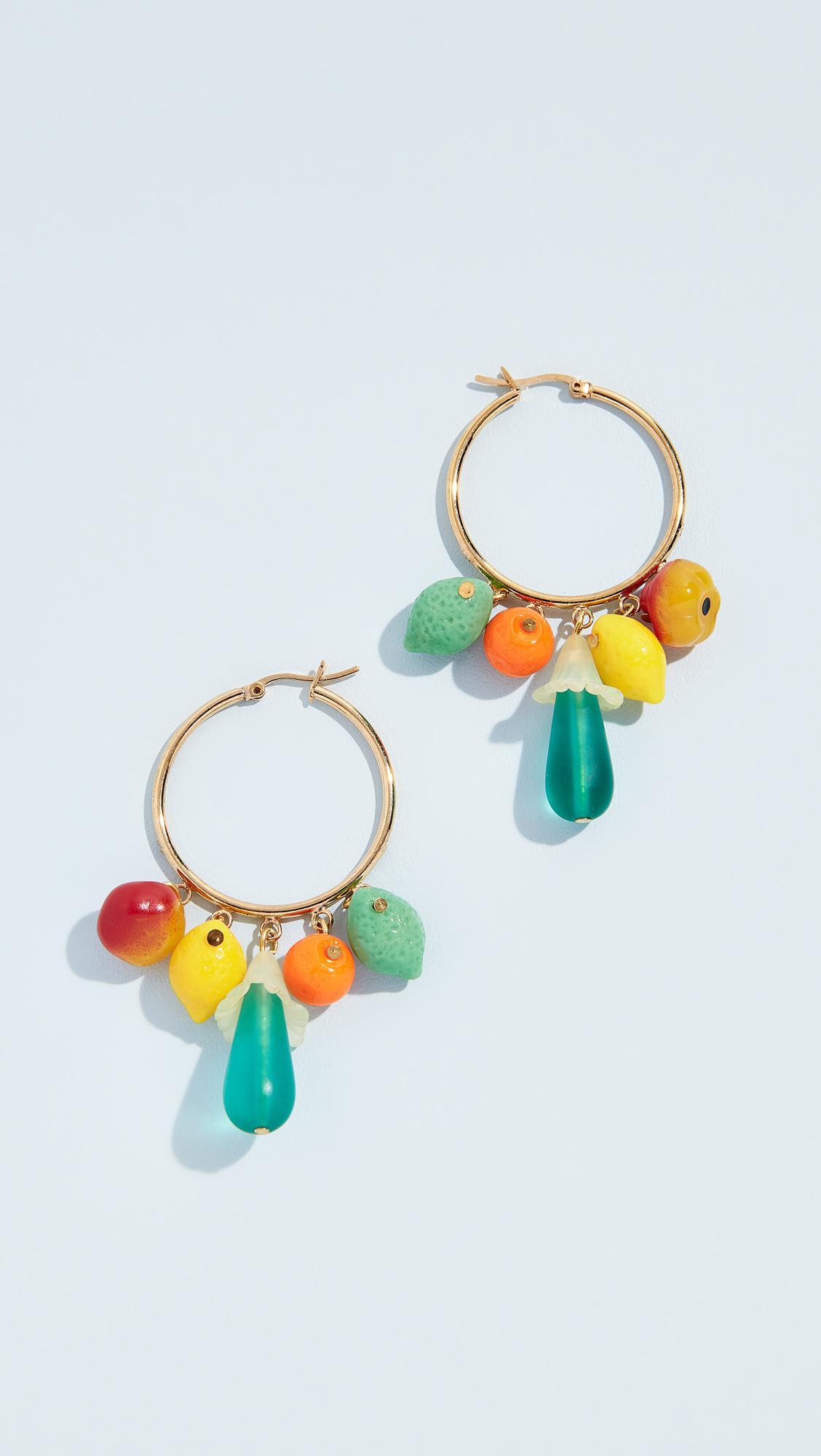 Holst + Lee Fruits of Paradise Earrings A3zv2vEeF