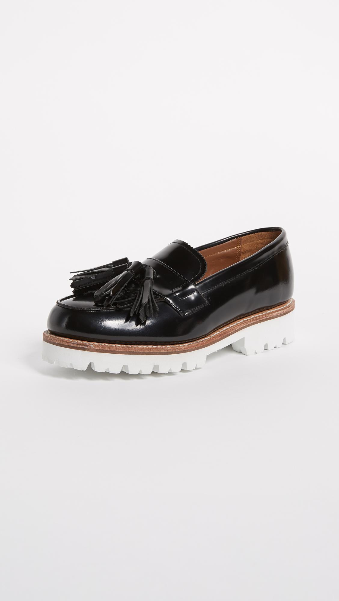 c5e3dbf804c Lyst - Grenson Clara Loafers in Black
