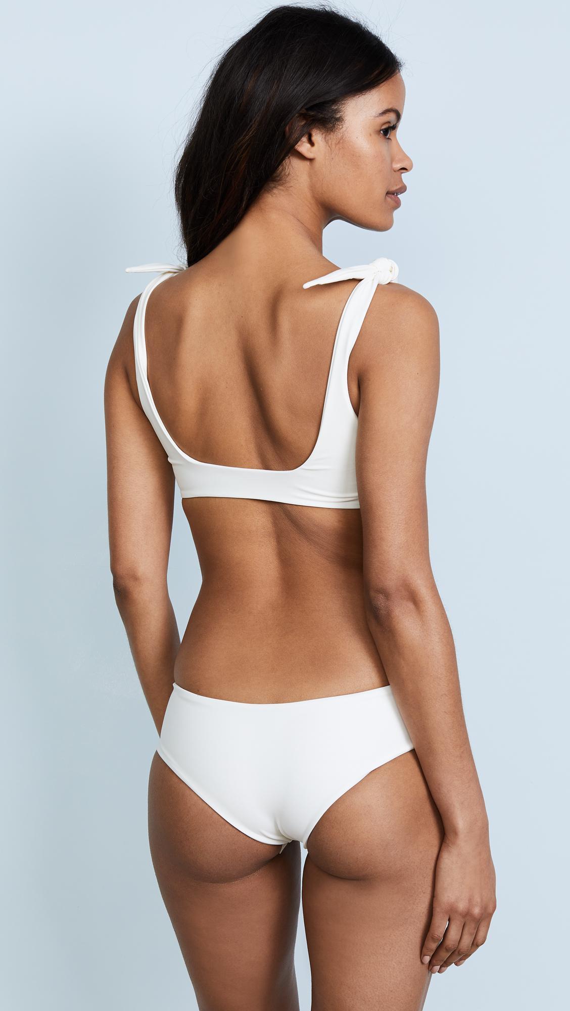 fa9e843f9fdaf Mikoh Swimwear - Multicolor Jamaica Bikini Top - Lyst. View fullscreen