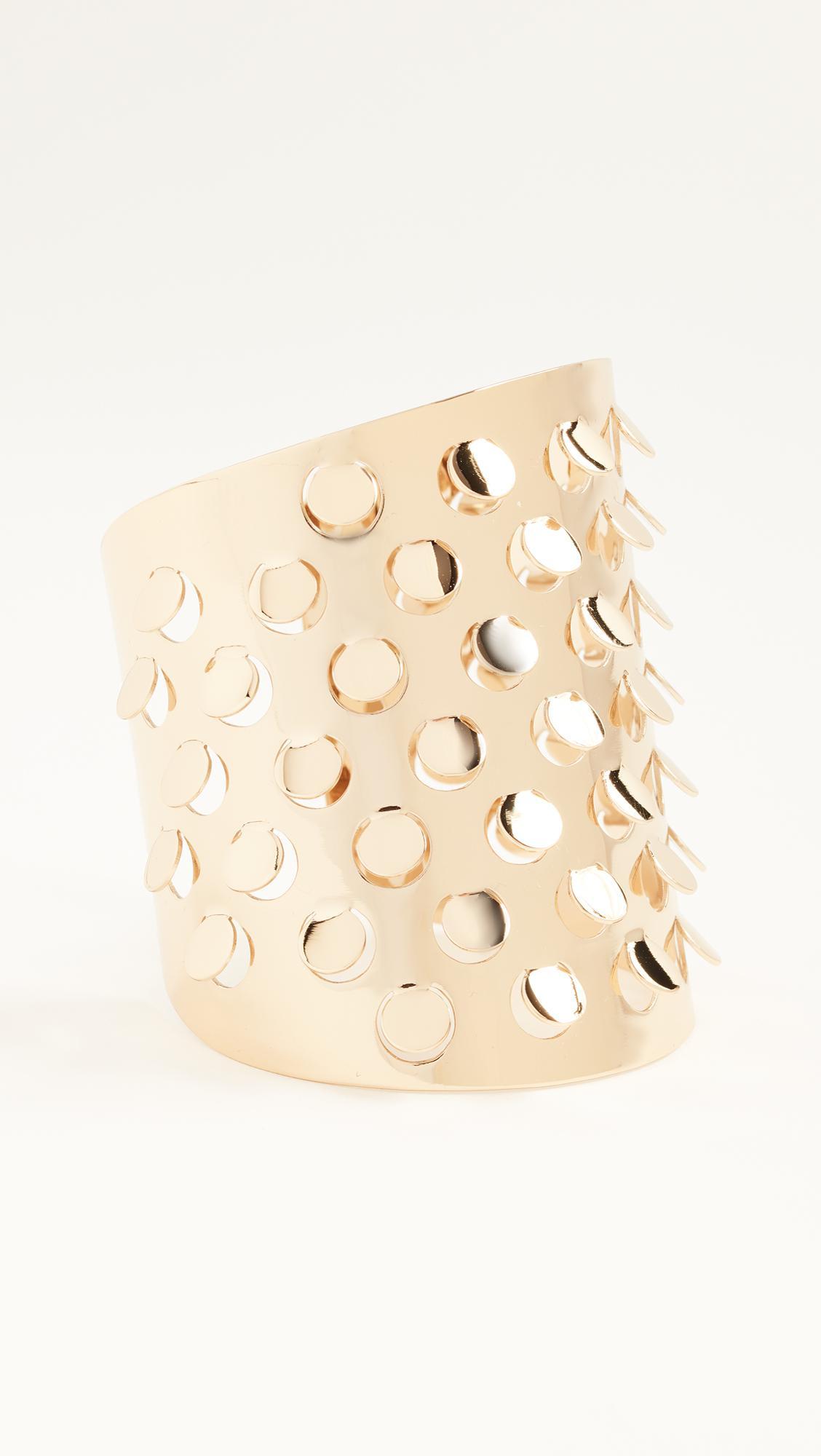 Alexis Bittar Grater Cuff Bracelet QpwgJXcdb