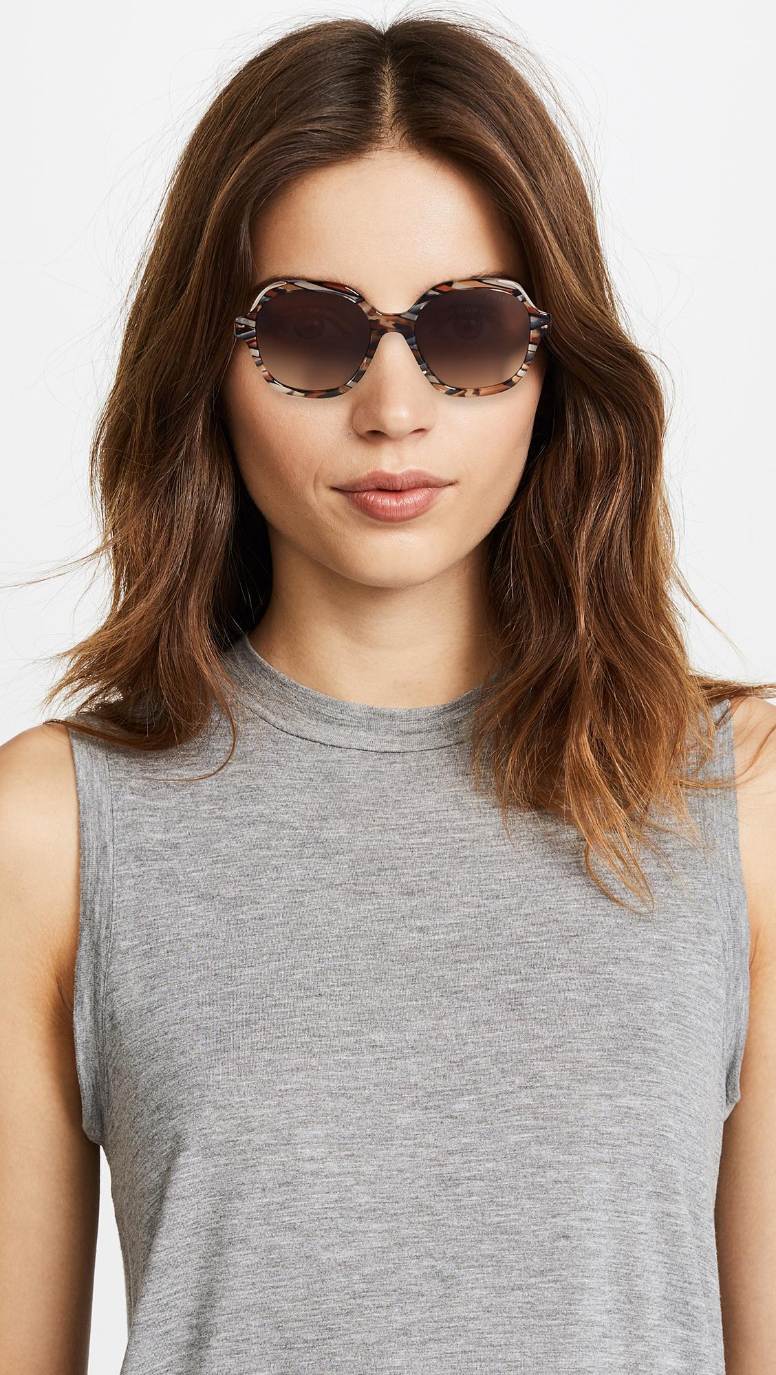 ca67bd333d5b Heritage Lyst Prada Heritage Prada Sunglasses Lyst H7qxOWn1
