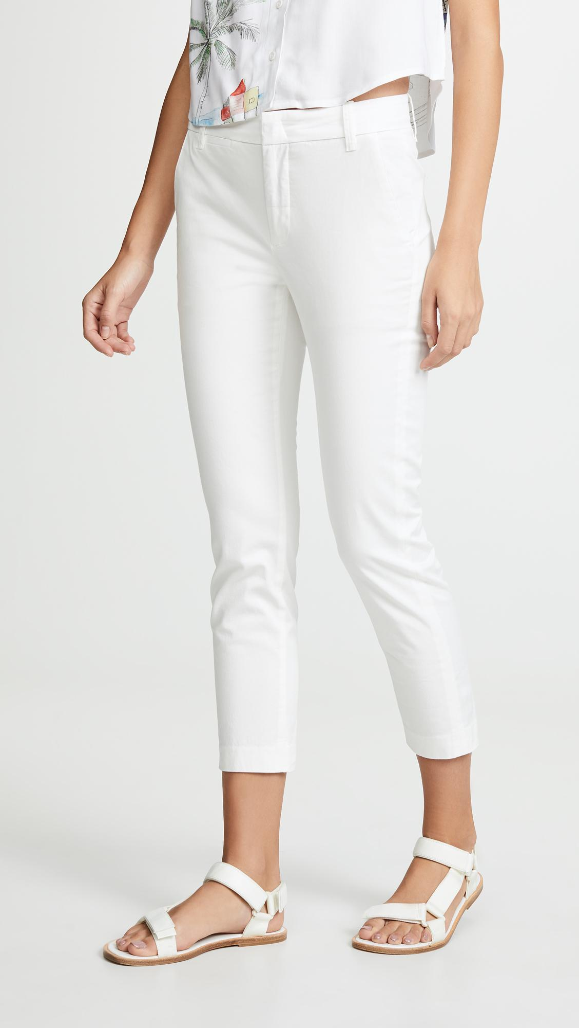 c94f81a48 Lyst - Vince Coin Pocket Chino Pants in White