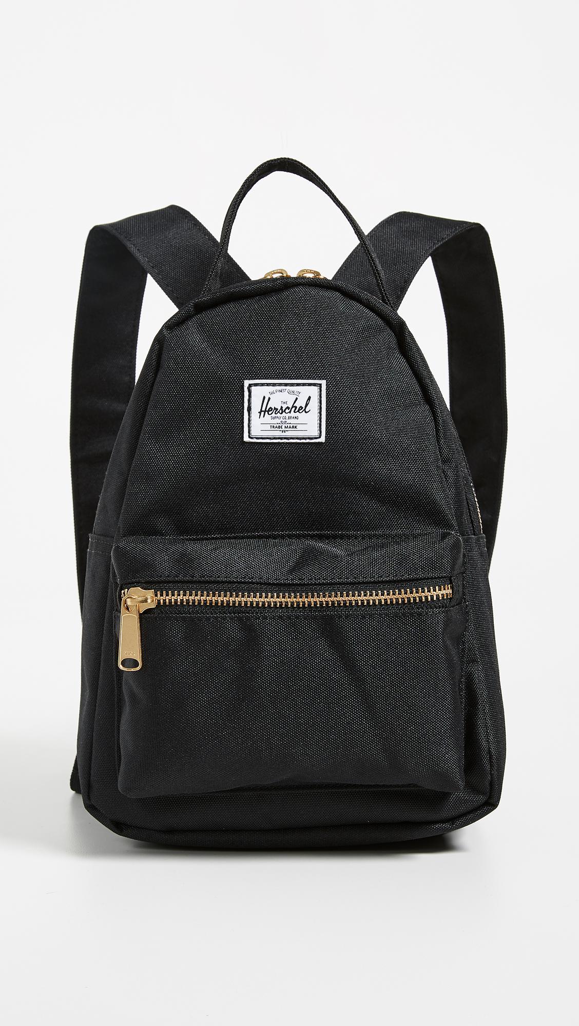 Lyst - Herschel Supply Co. Nova Mini Backpack in Black - Save 30% d69428cfd0