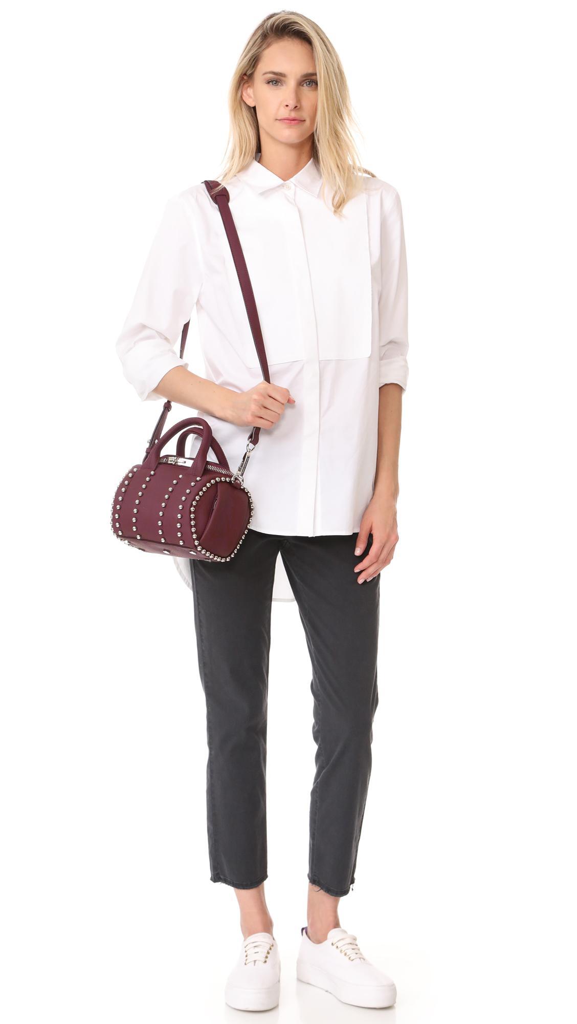 mini Rockie ball stud bag - Black Alexander Wang COlUwB1BO