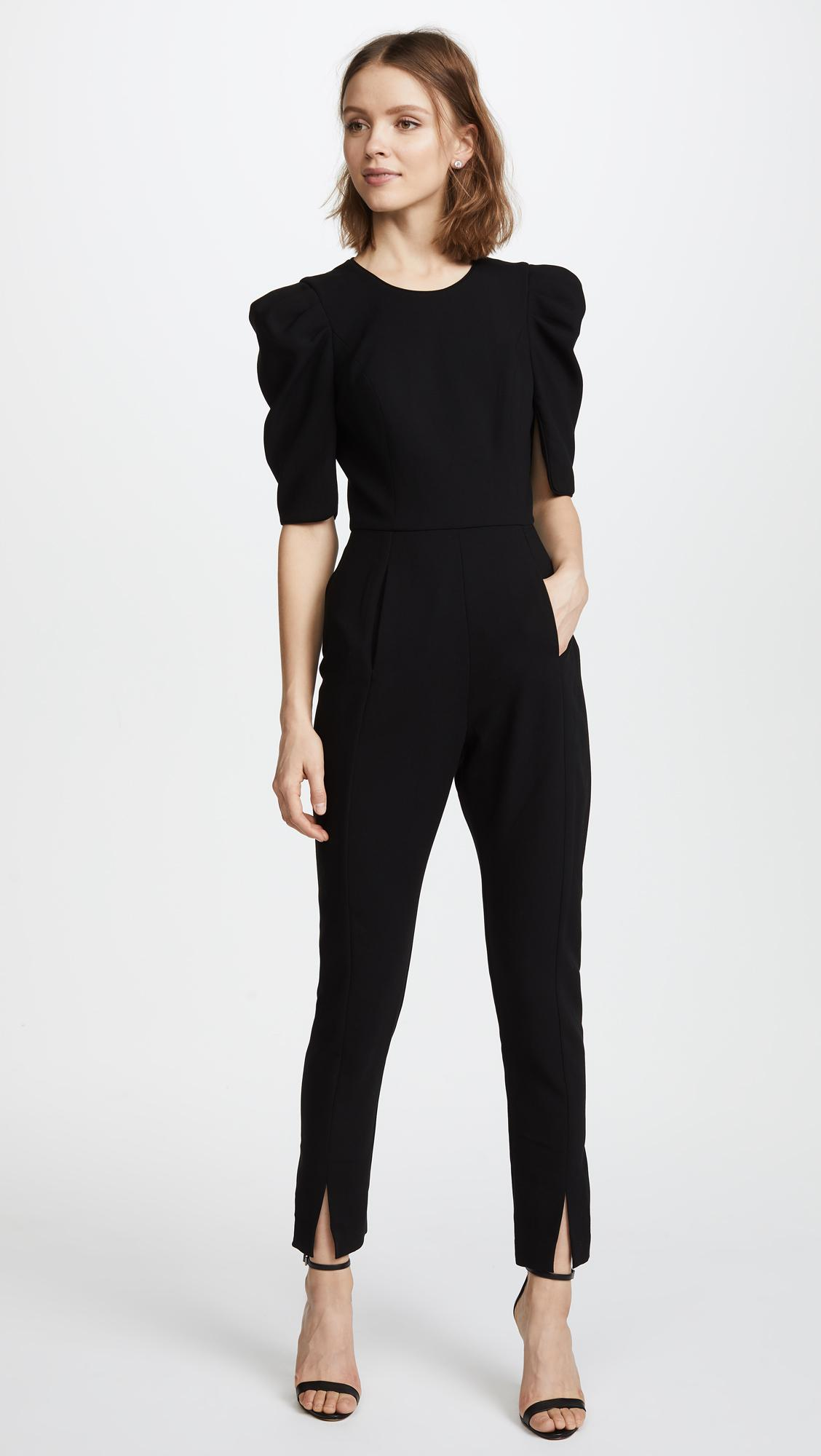 518fc6ce21c Lyst - Black Halo Russo Jumpsuit in Black