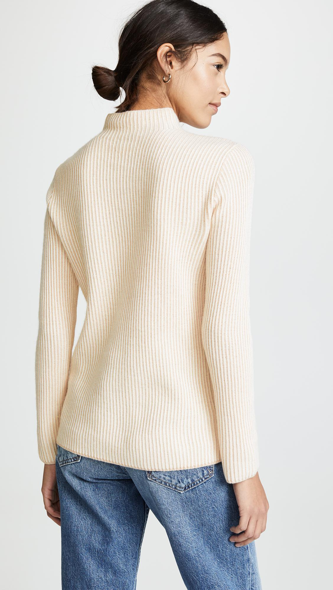 Lyst Sweater Natural Cashmere Monaco In Margee Club rxYZqIr