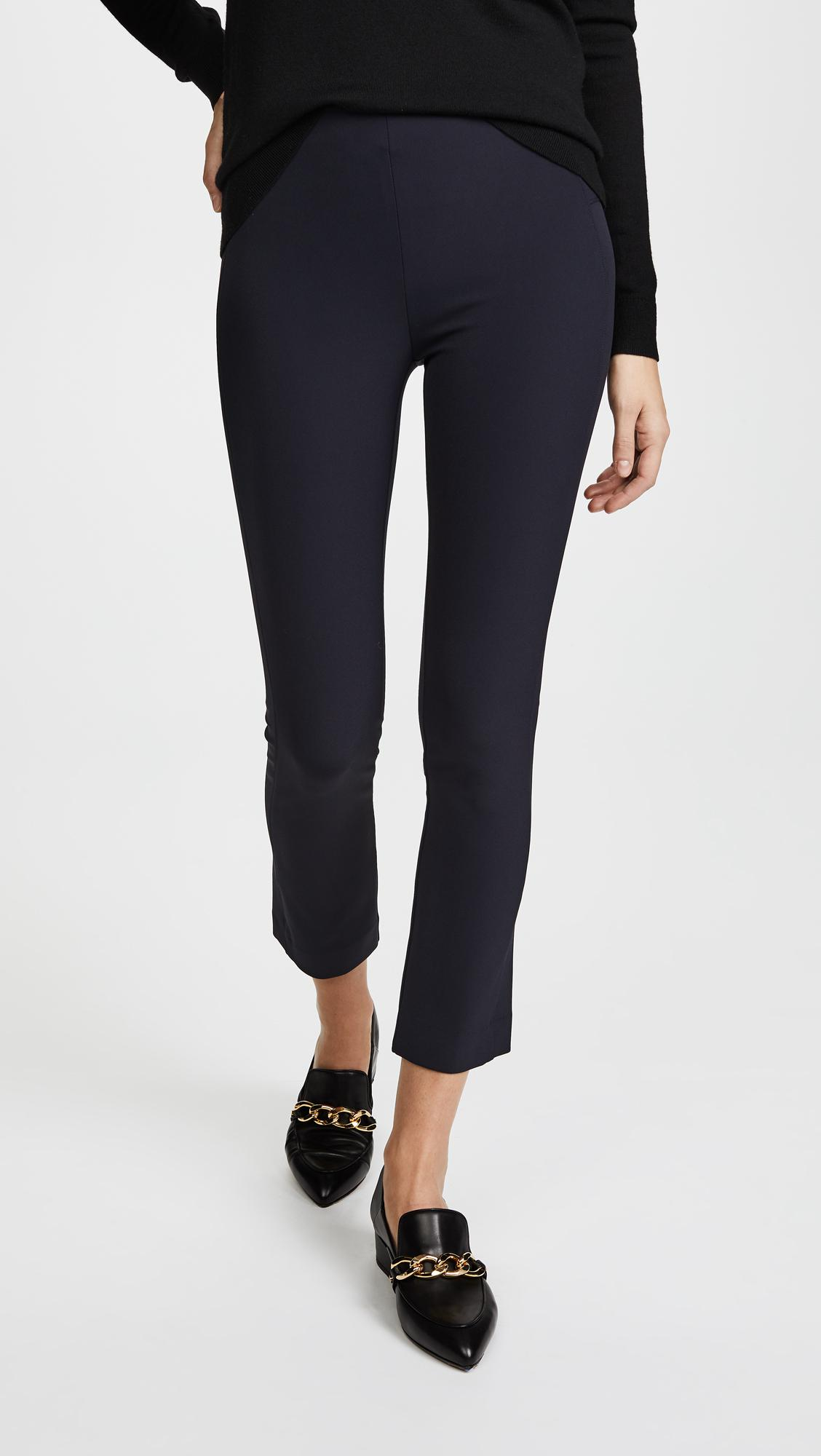 Veronica Scuba Pant In Lyst Zip Back Blue Beard e2WDHb9IYE