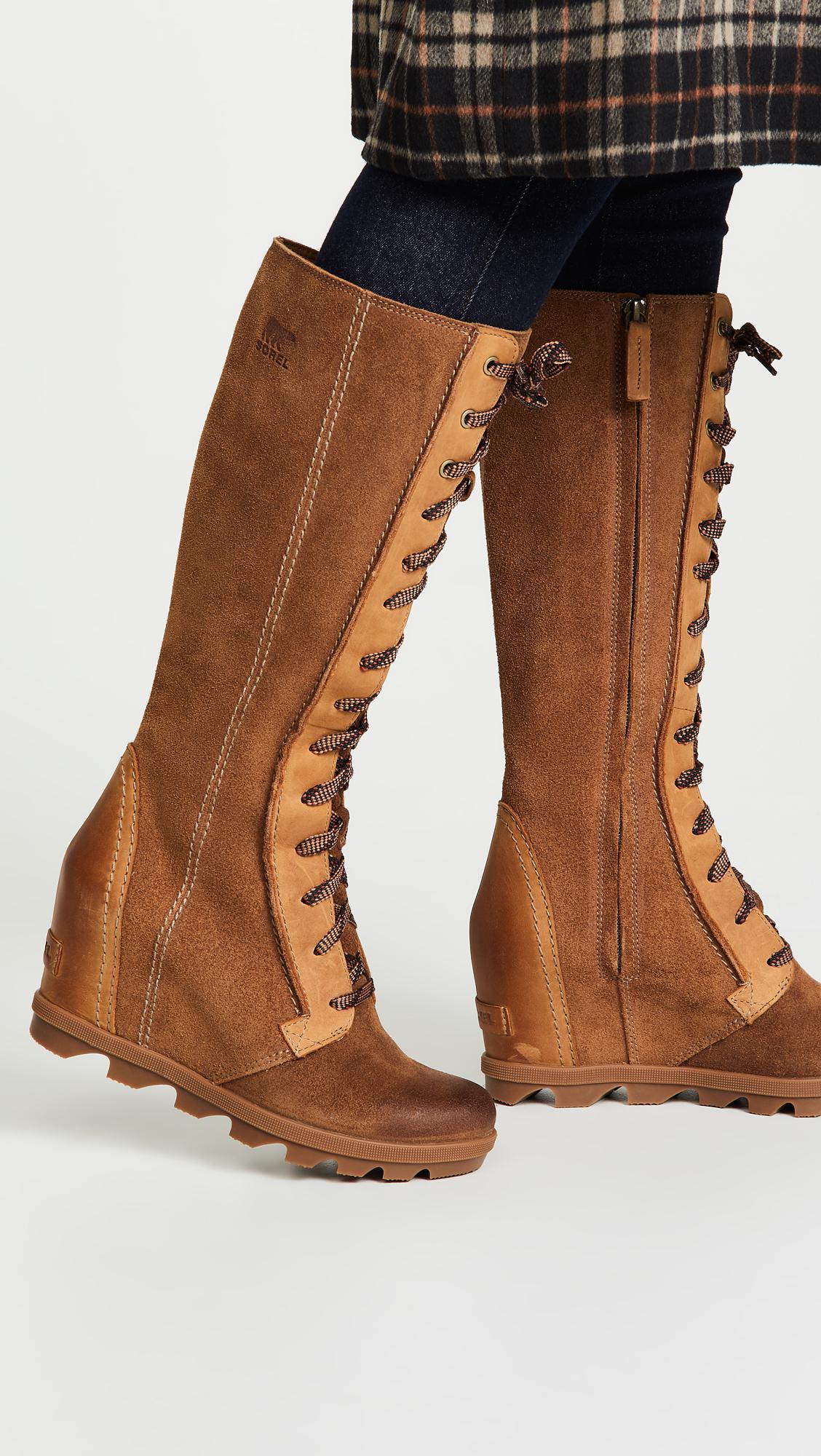 5613170d545 Sorel - Brown Joan Of Arctic Wedge Ii Tall Boot - Lyst. View fullscreen