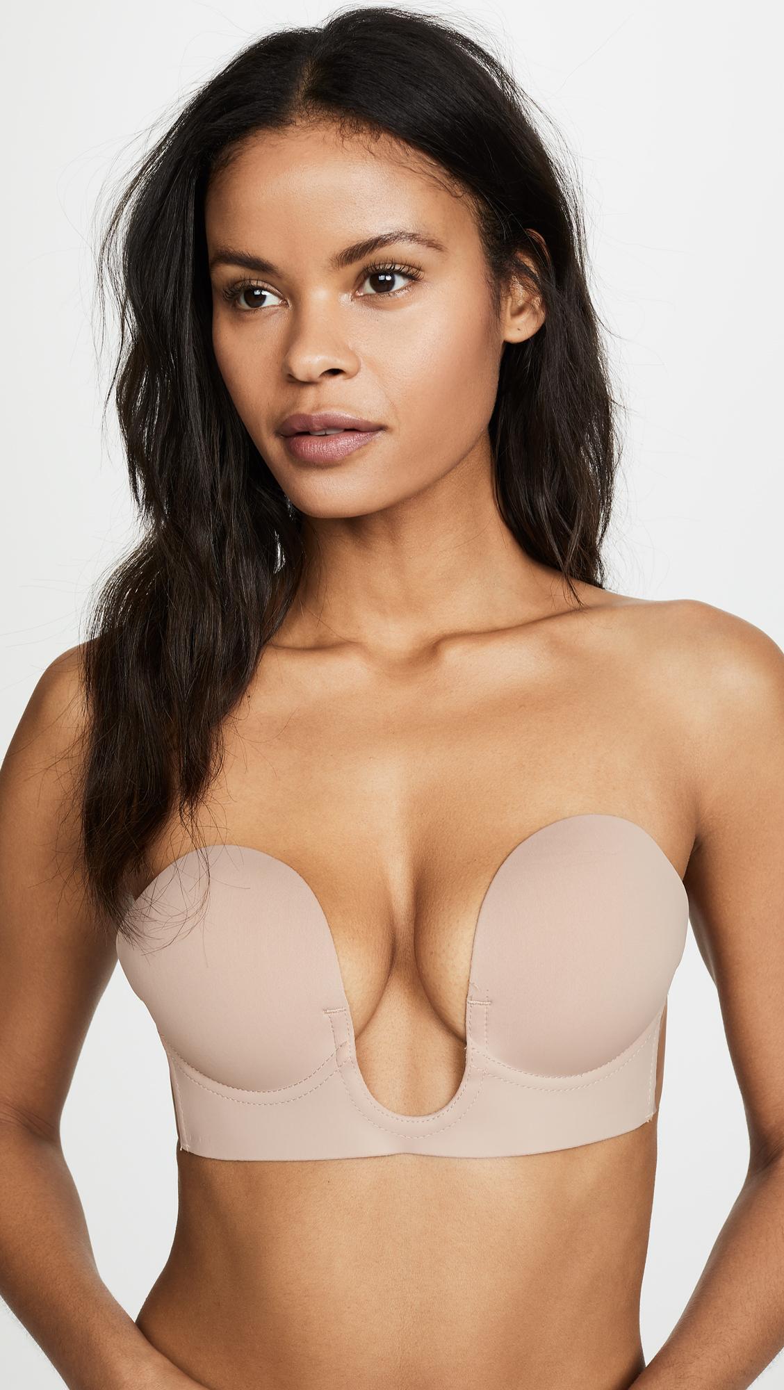 fe82e68a25053 Fashion Forms. Women s U Plunge Backless Strapless Bra