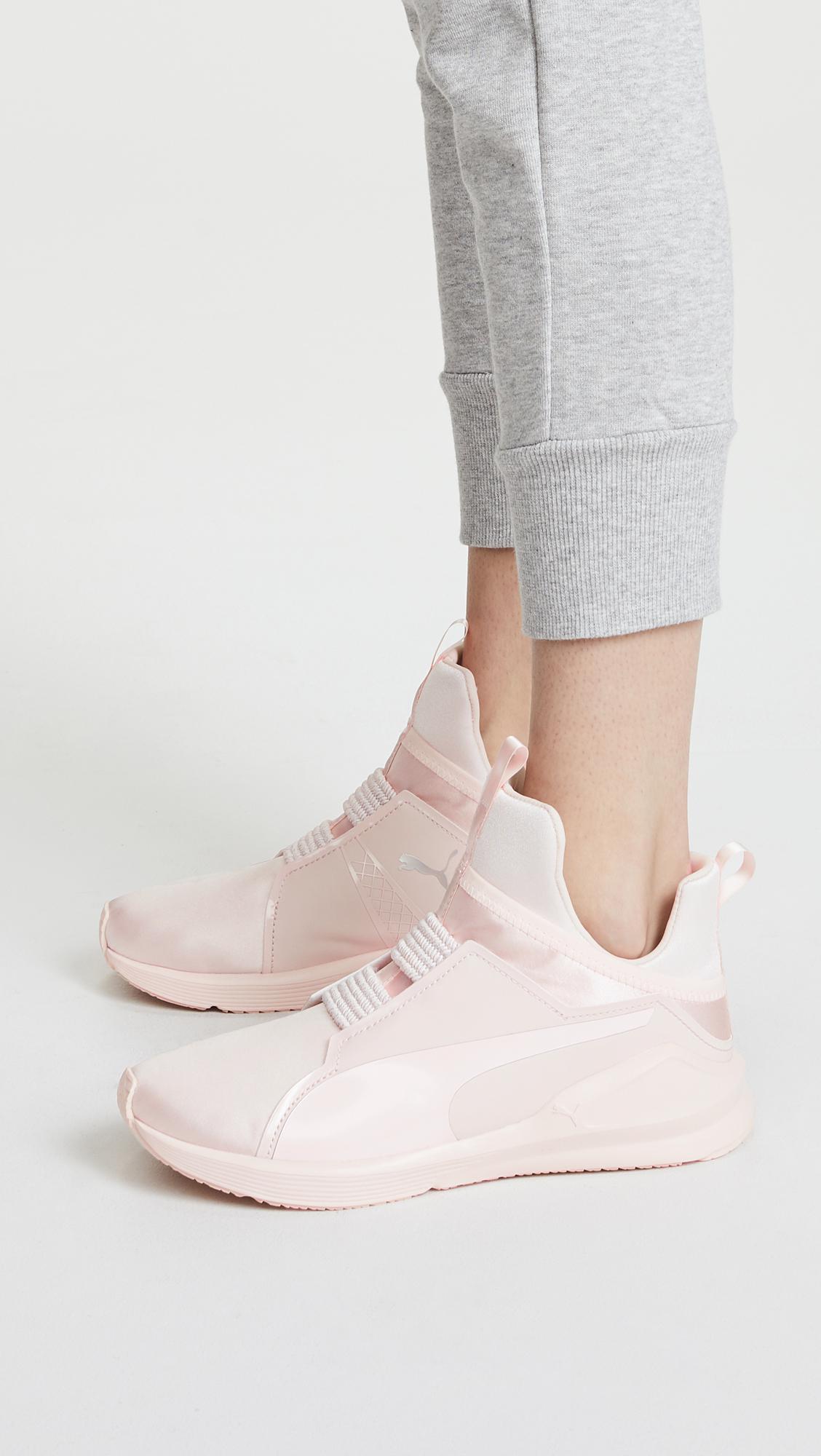 PUMA - Pink Fierce Satin Ep Sneakers - Lyst. View fullscreen 7f50a782f