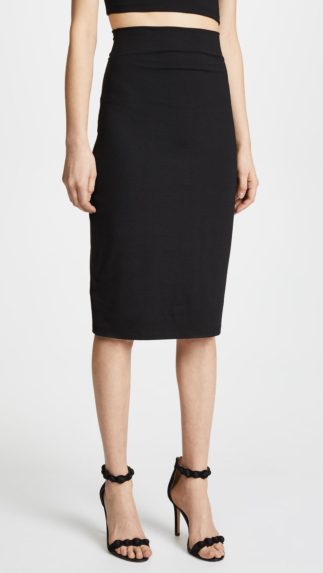 Cheap Price From China Pencil Skirt in Gray Susana Monaco Clearance Collections 7G1j1wGzDt