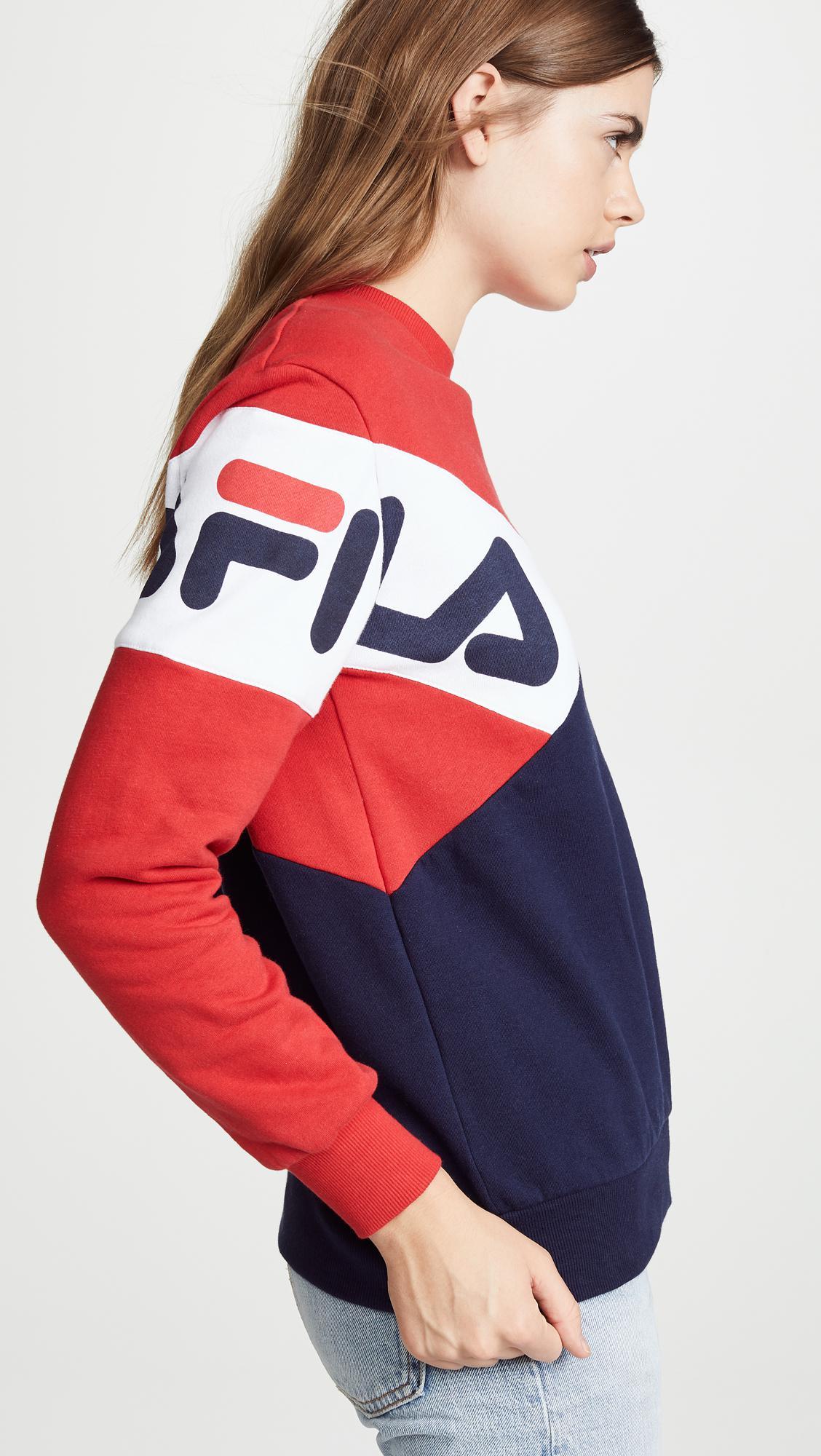 b016b3d9a222 Fila Lidia Sweatshirt - Lyst