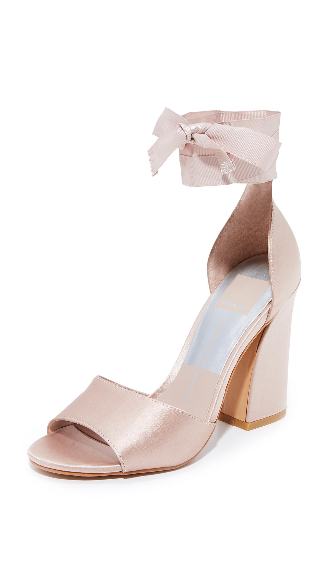 46eb69a597 Dolce Vita Harvey Wrap Sandals in Pink - Lyst