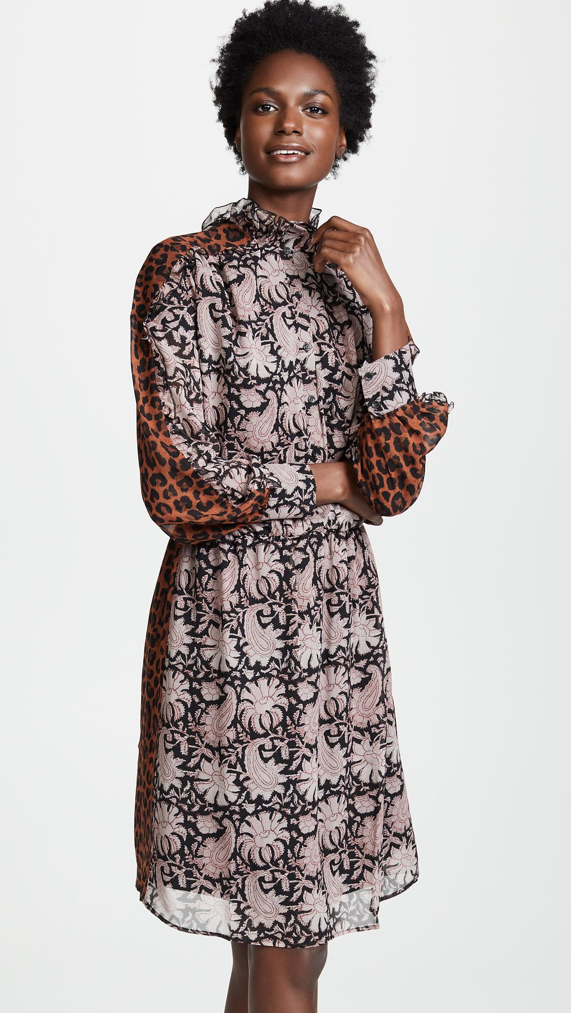 Antik Batik - Multicolor Flowers Dress - Lyst. View fullscreen d8920a1e1