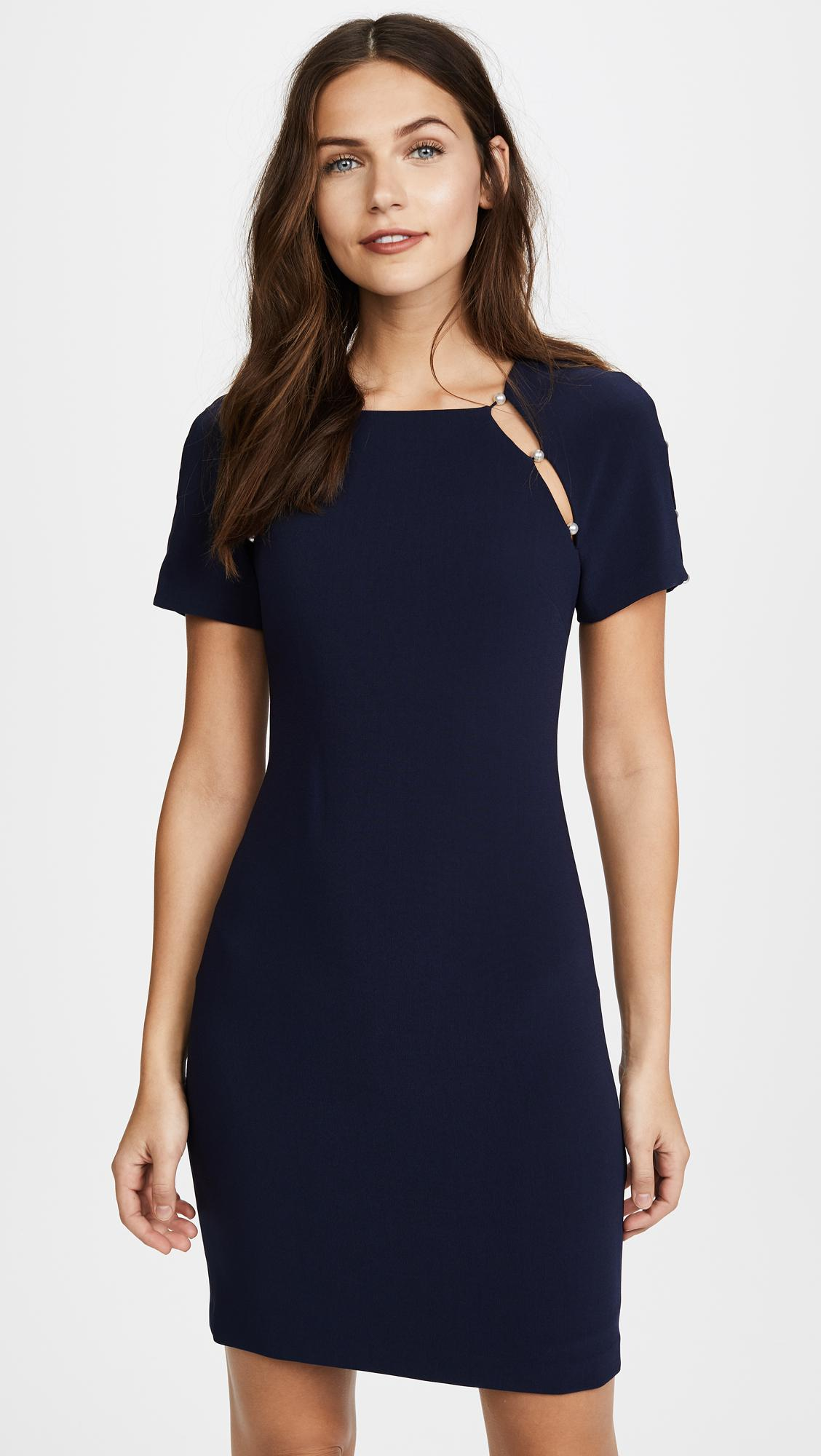 Lyst Alice Olivia Kristiana Fitted Dress With