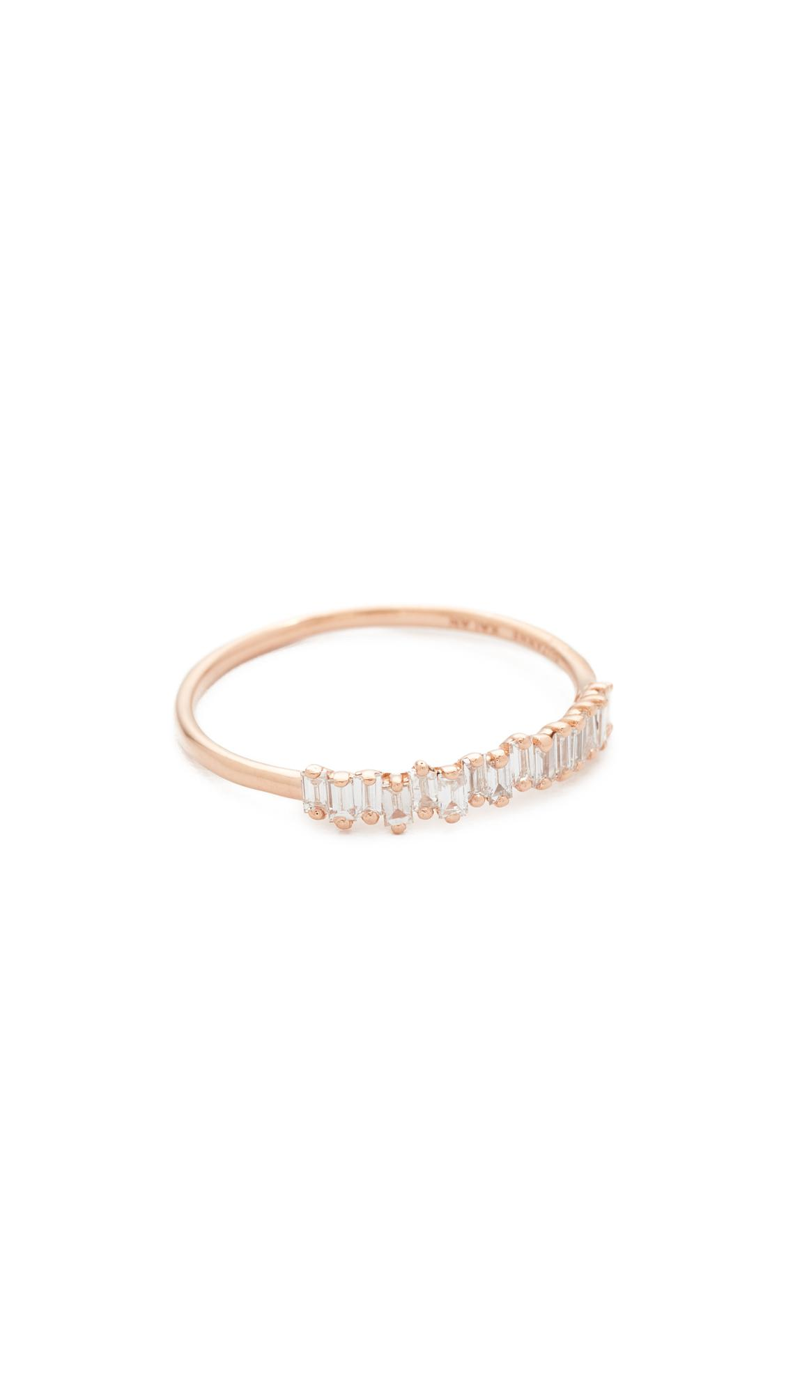 Suzanne Kalan Fireworks 18k Gold Eternity Band Ring 5f1f6KWF