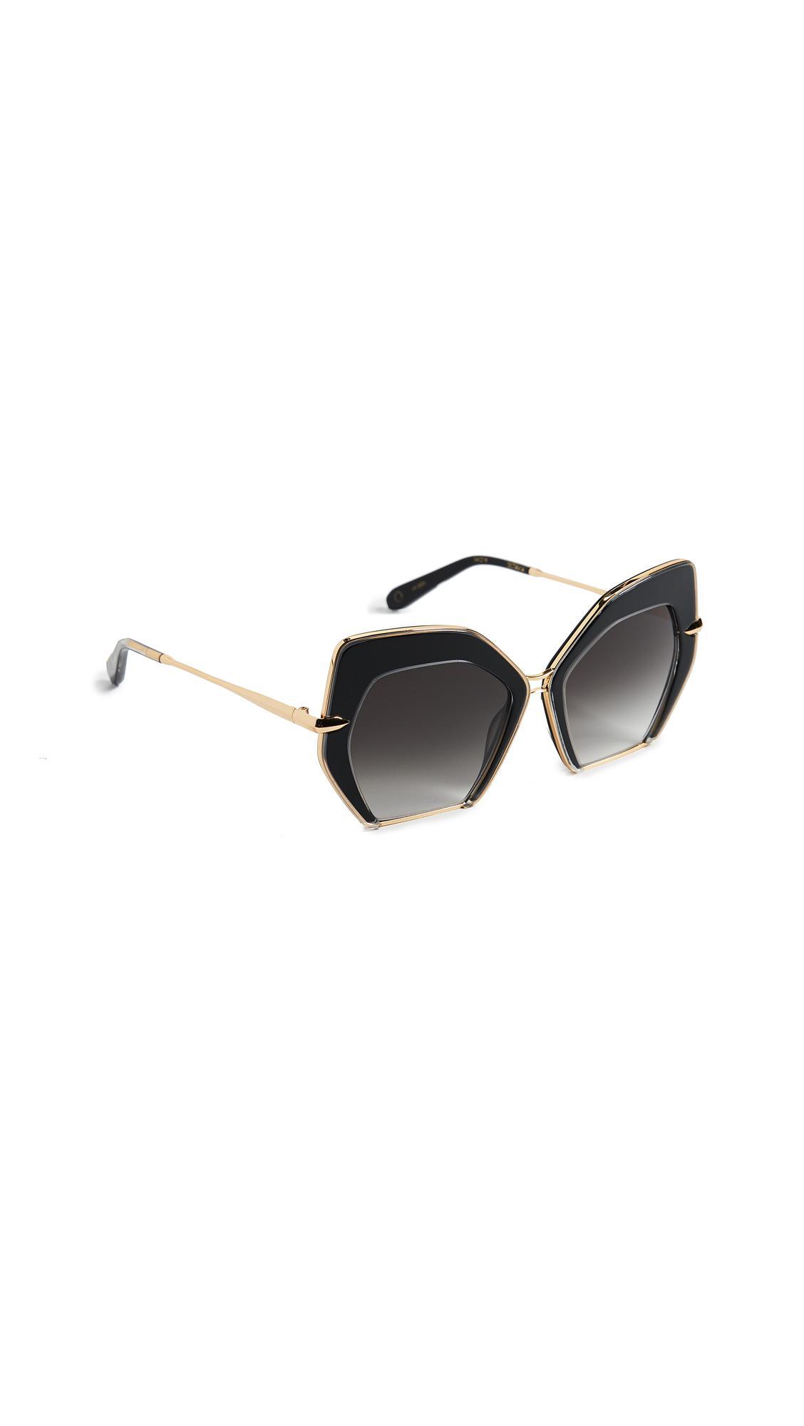 4e91ce8bb3 Krewe Octavia Glam Sunglasses - Lyst