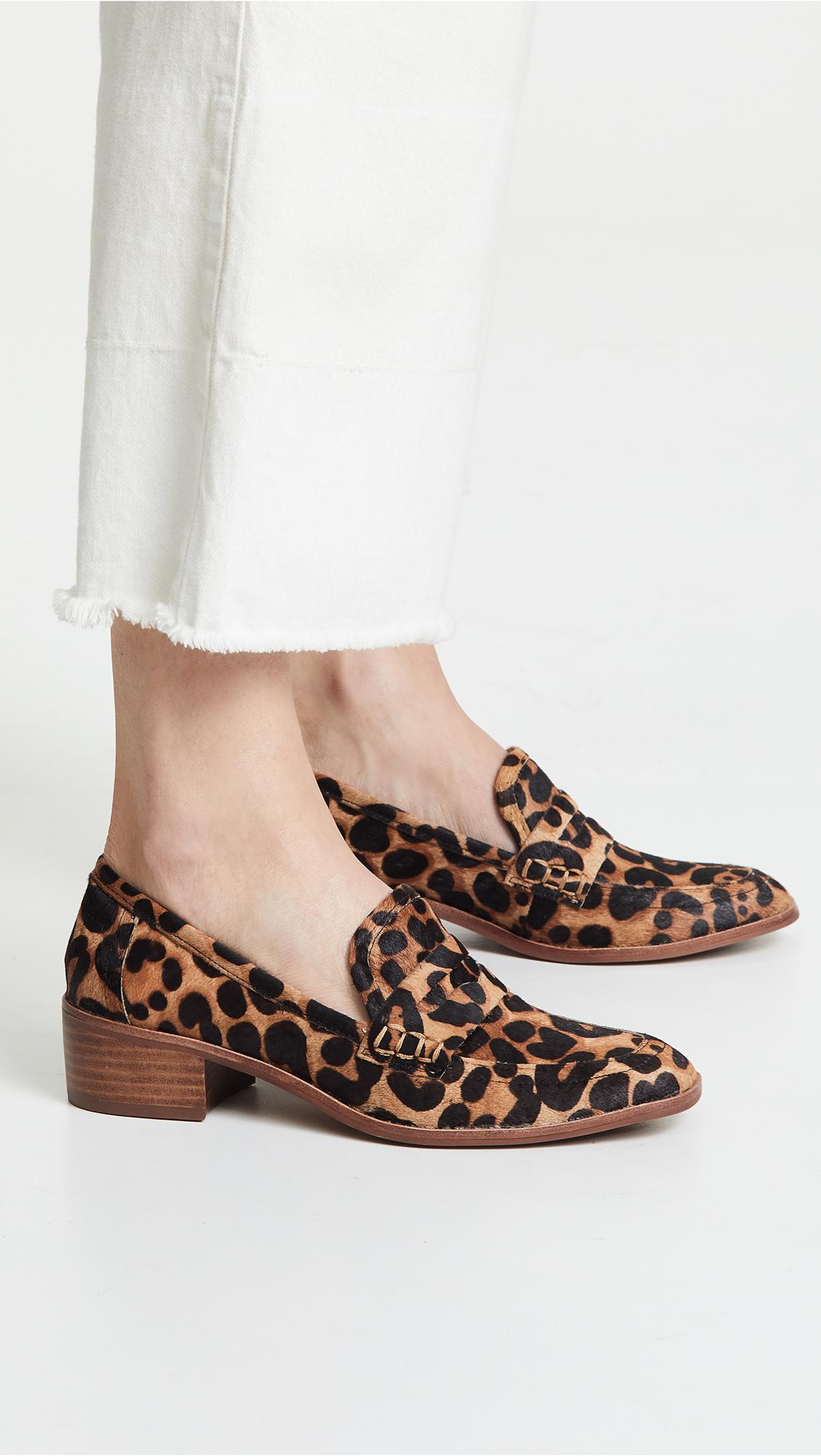 e4e5ad0523c91 Steven by Steve Madden Iona Loafers in Brown - Lyst