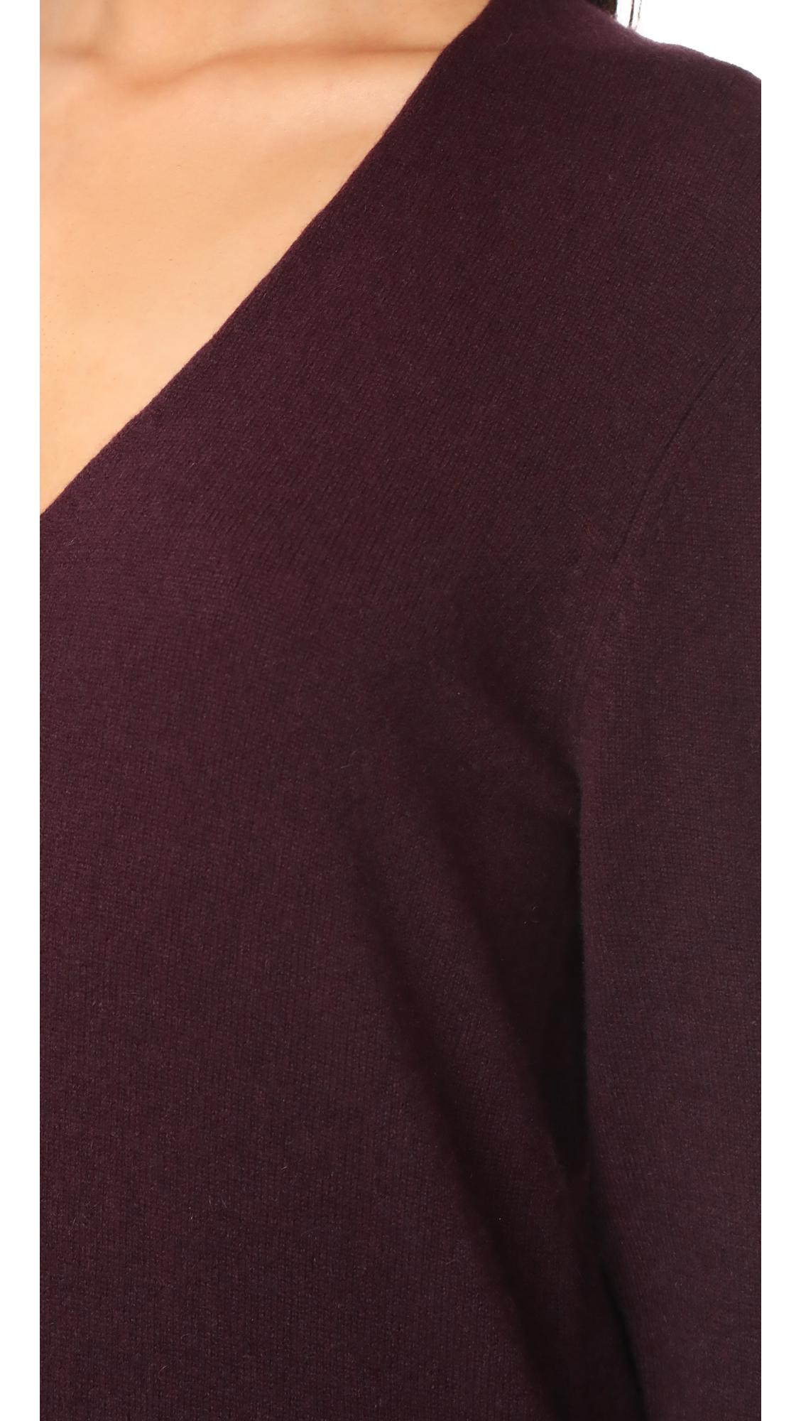 4958a182c9 Equipment Rosemary Cashmere Sweater Dress in Purple - Lyst