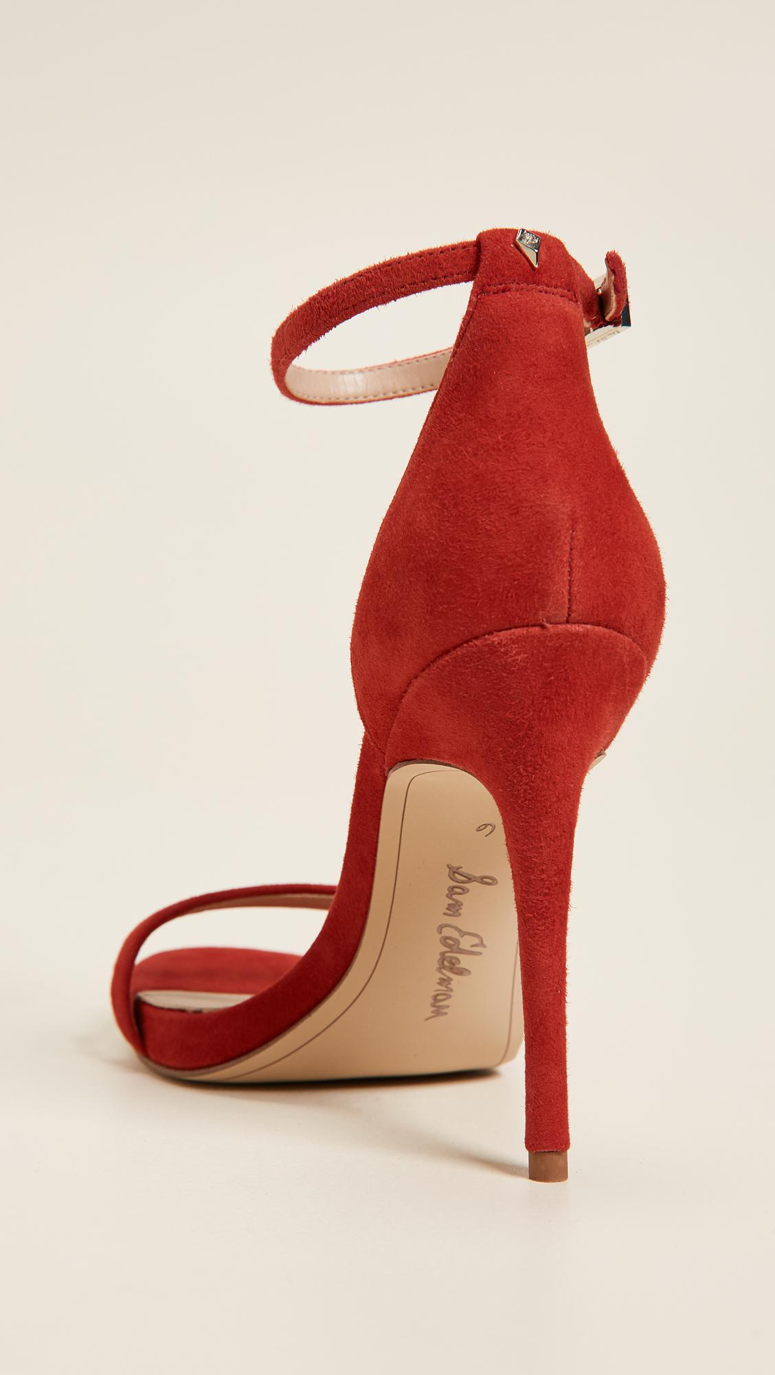0f9ad008be3f Lyst - Sam Edelman Ariella Sandals in Red