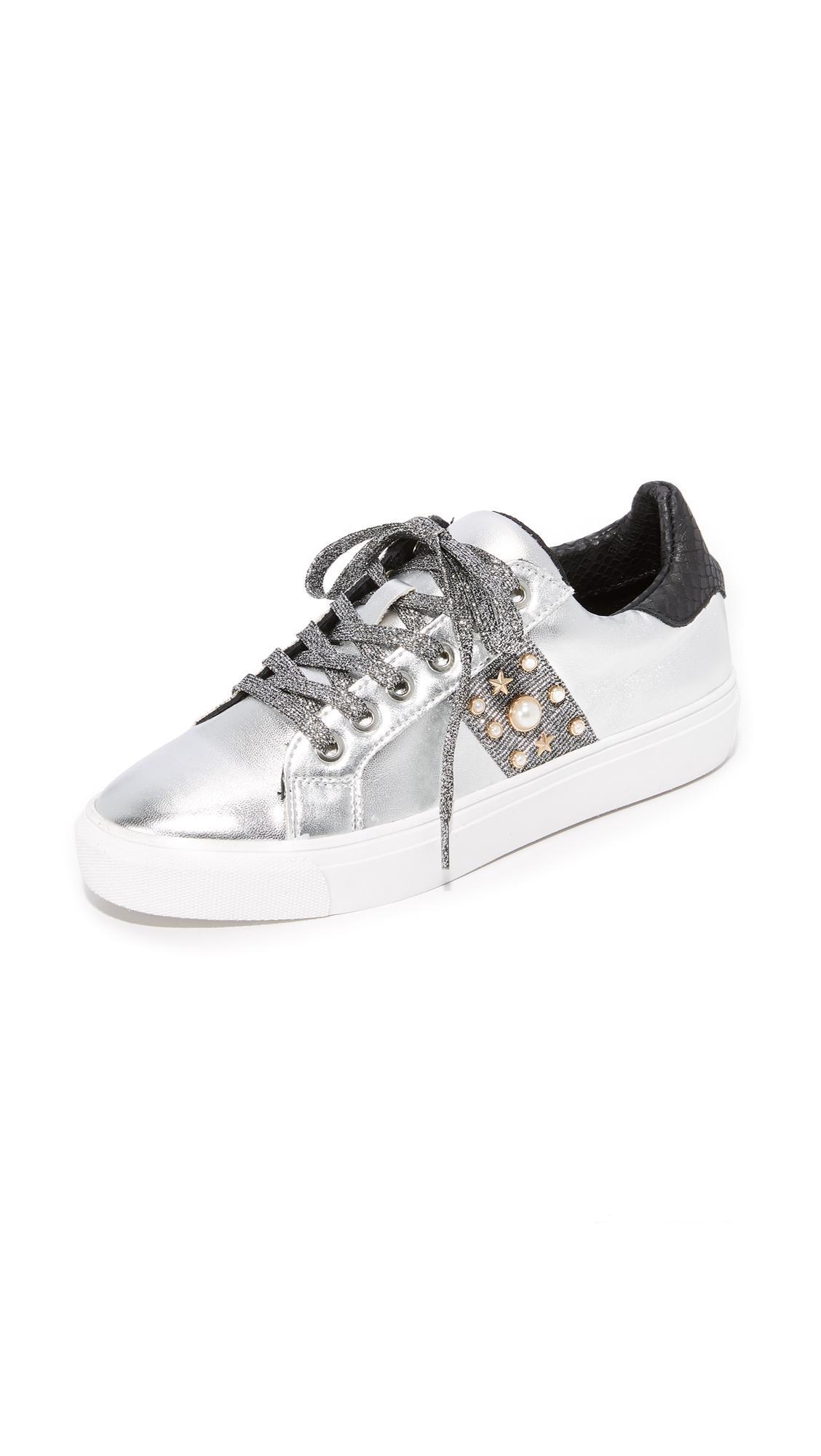 30a579eb739 Lyst - Steven by Steve Madden Cory Classic Sneakers in Metallic