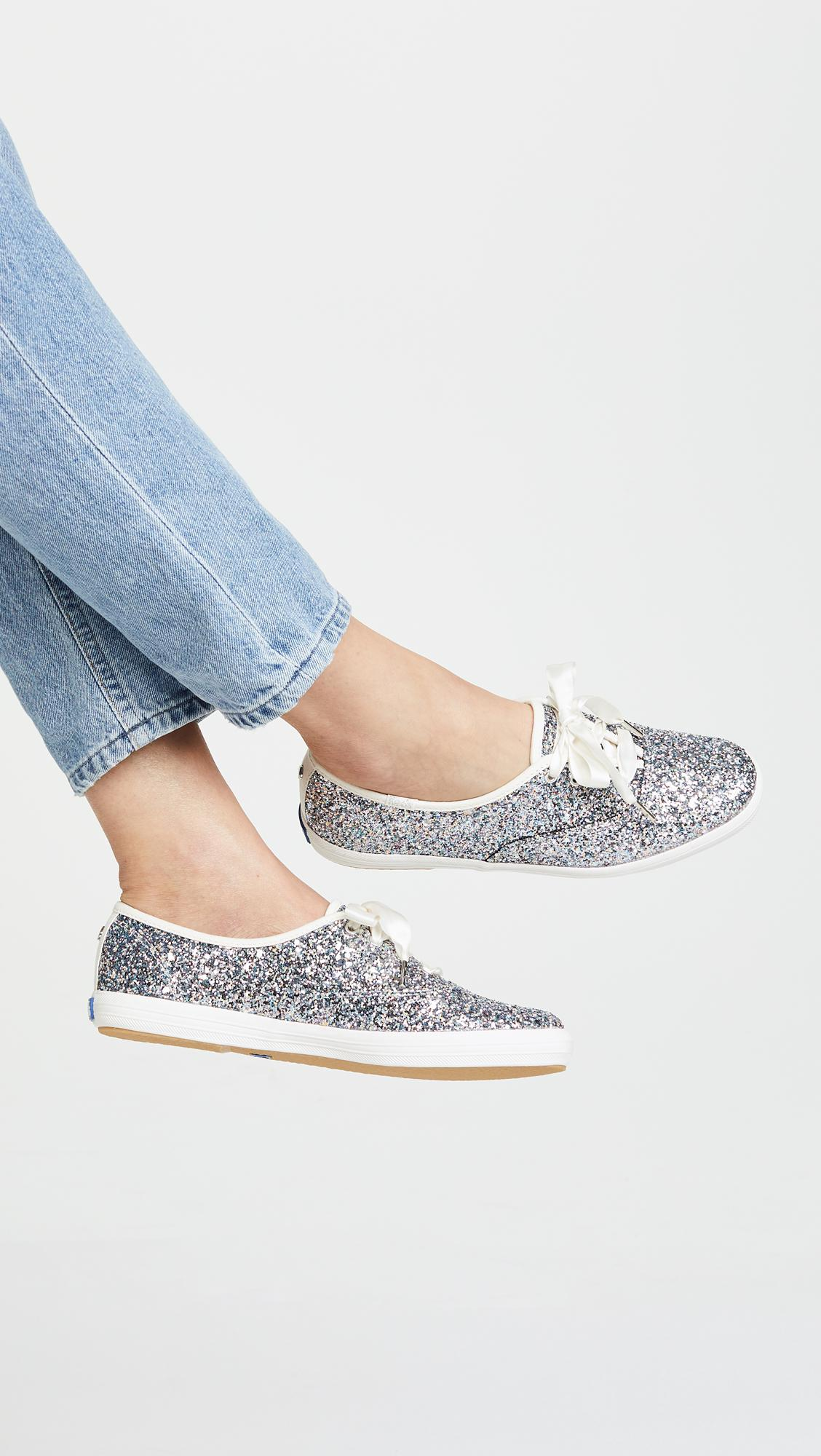 0db4f201158 Keds - Metallic X Kate Spade New York Glitter Sneakers - Lyst. View  fullscreen