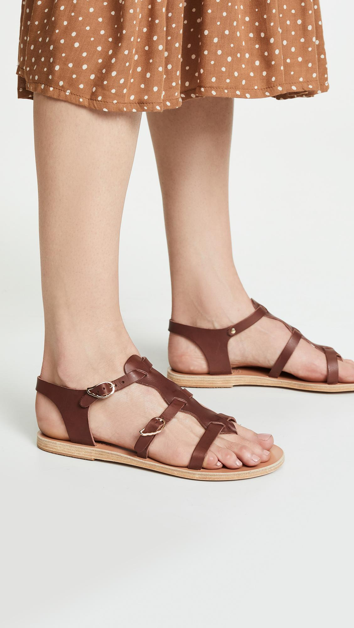 9eb87b391 Ancient Greek Sandals - Brown Grace Kelly Sandals - Lyst. View fullscreen