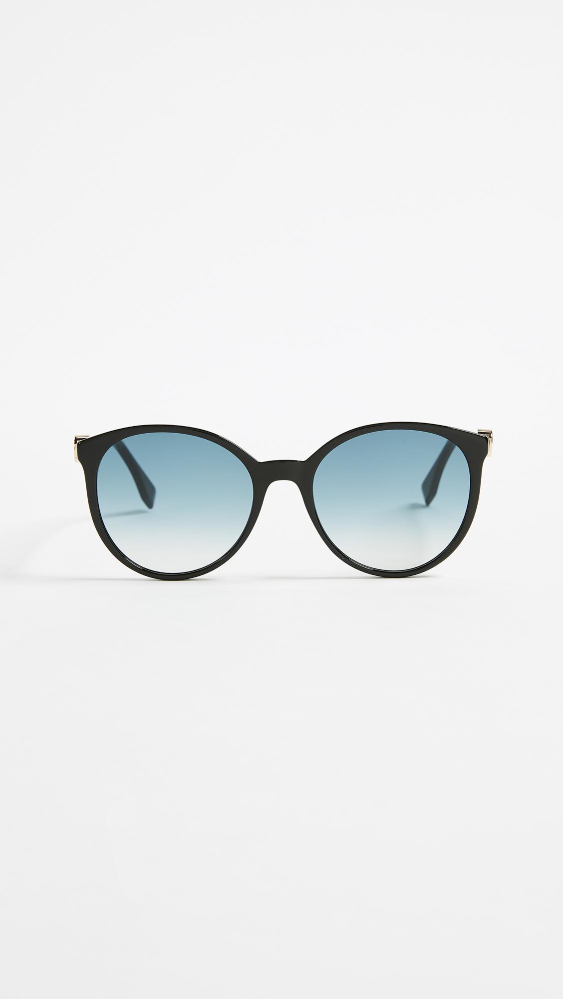 Fendi Gradient round sunglasses XGnWbNa6
