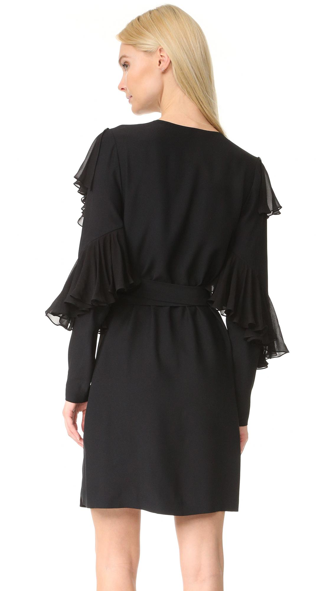 Lyst Yde Liv Dress In Black