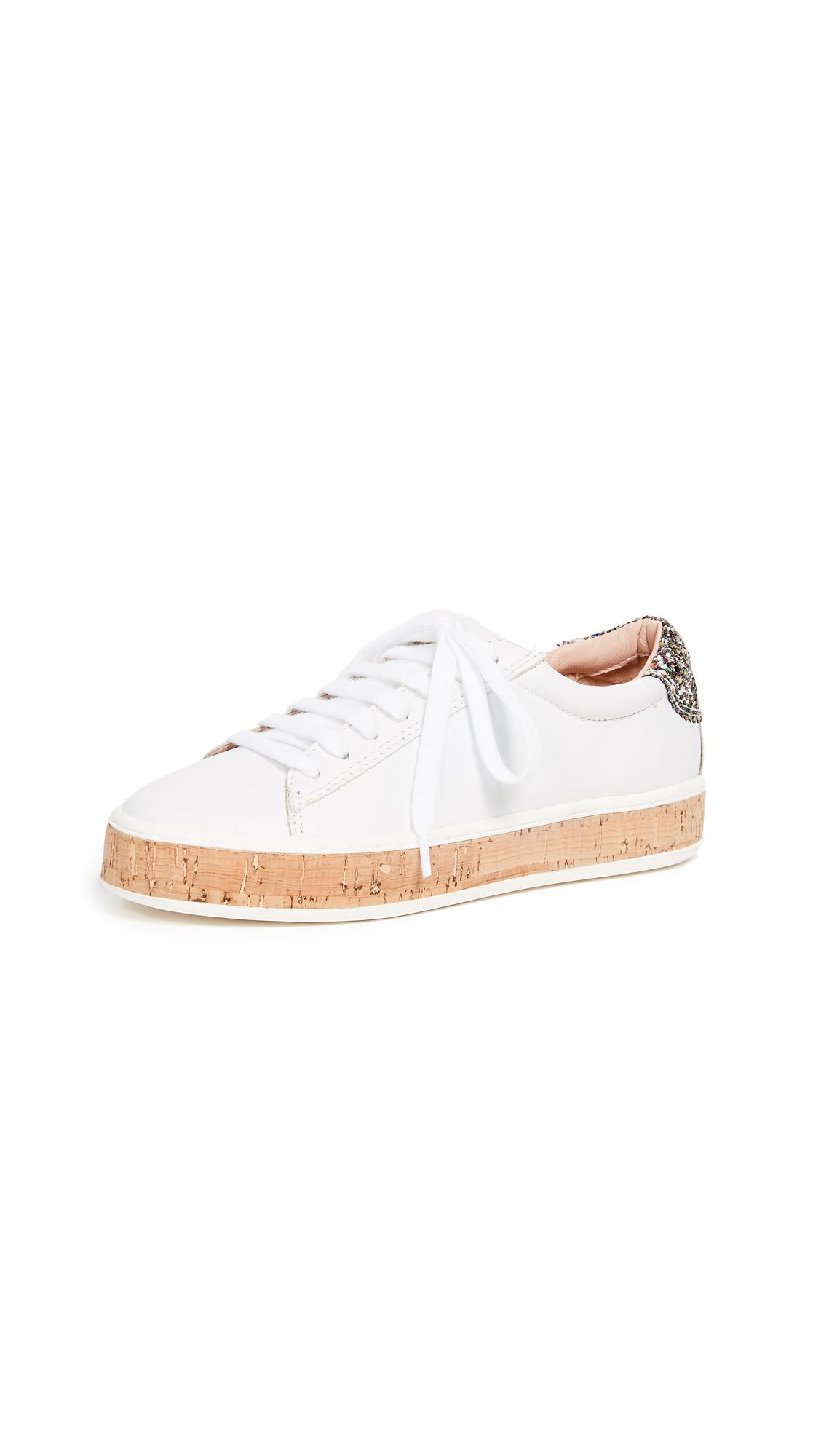 fbcc581796b6 Lyst - Kate Spade Amy Espadrille Sneakers in White