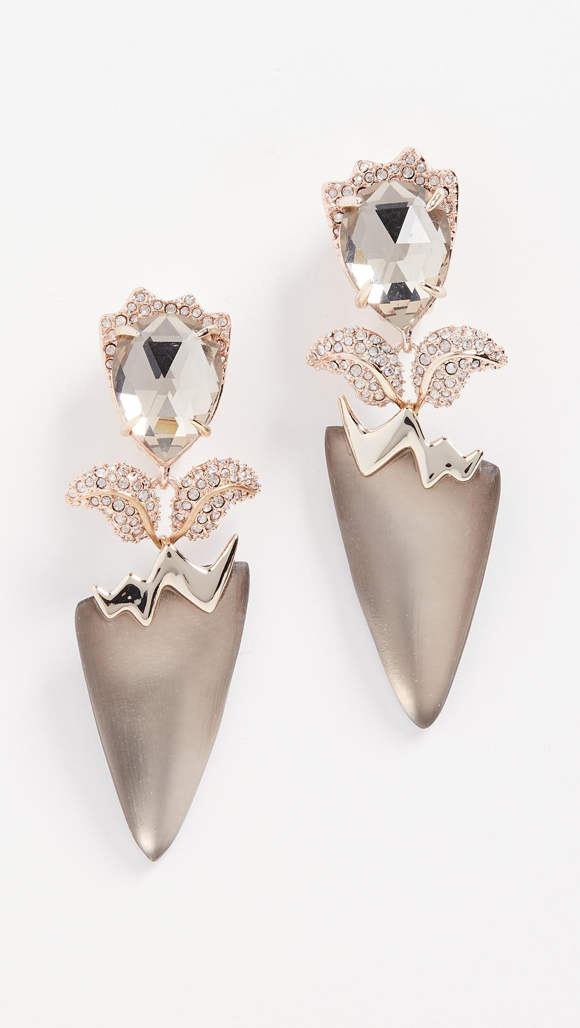 Alexis Bittar Abstract Flower Clip on Earrings YHvJH