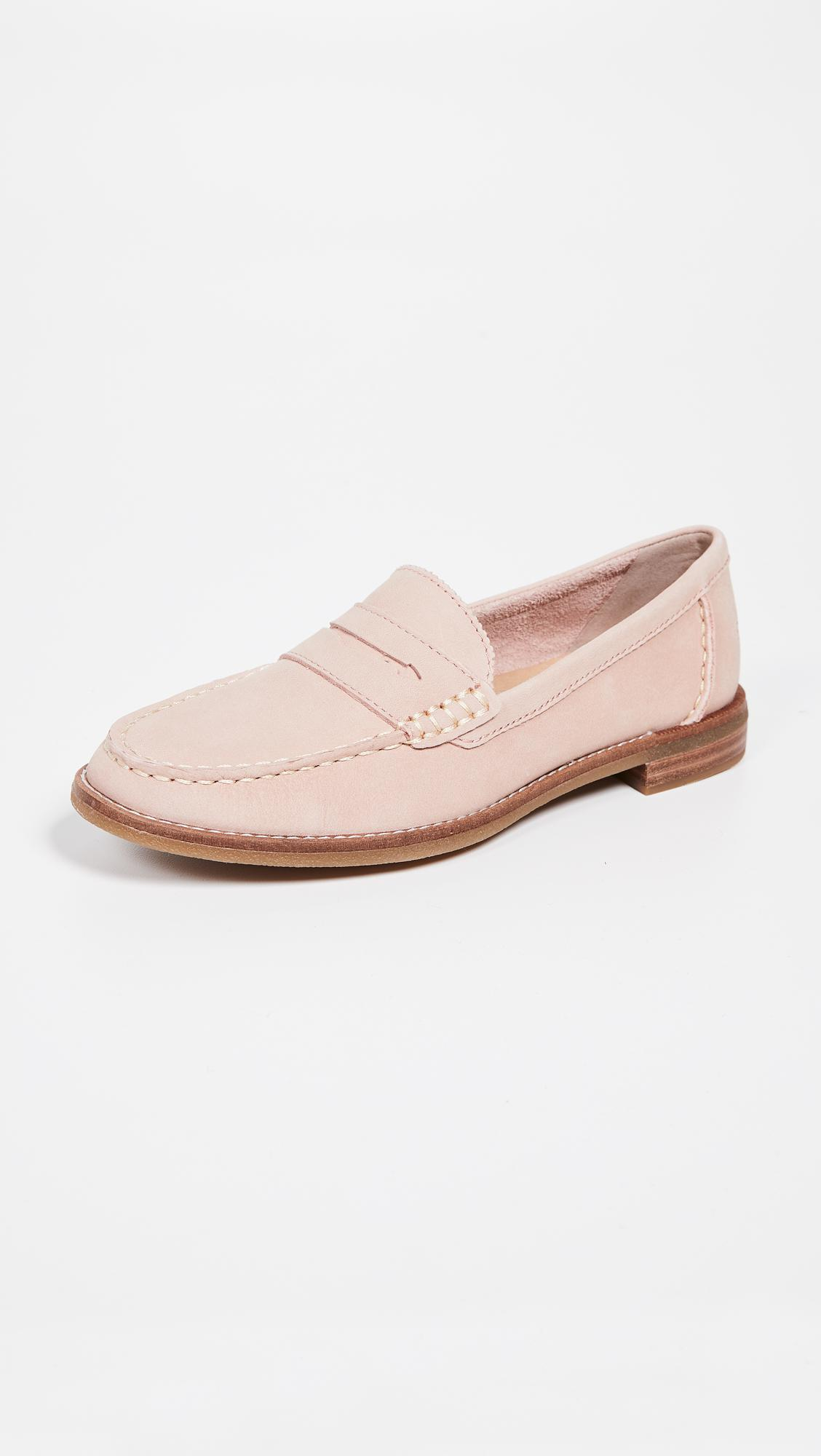 ea9c1c91ef4 Lyst - Sperry Top-Sider Seaport Penny Loafers in Pink