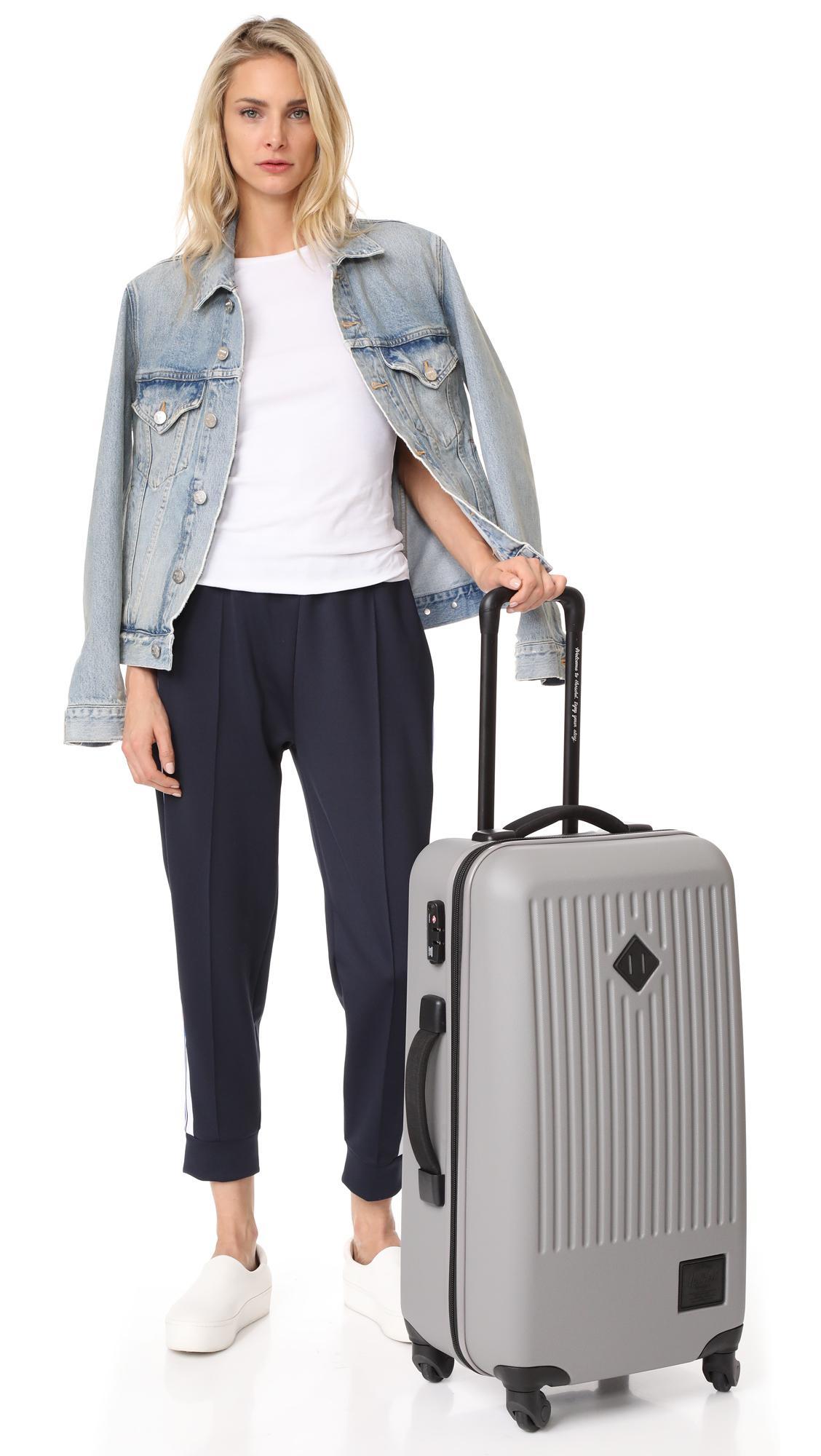 822eaf638 Herschel Supply Co. Trade Medium Suitcase in Gray - Lyst