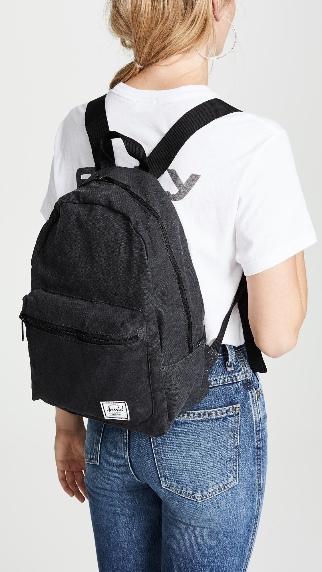 29fae696fd0 Herschel Supply Co. Cotton Casual Grove X-small Backpack in Black - Lyst