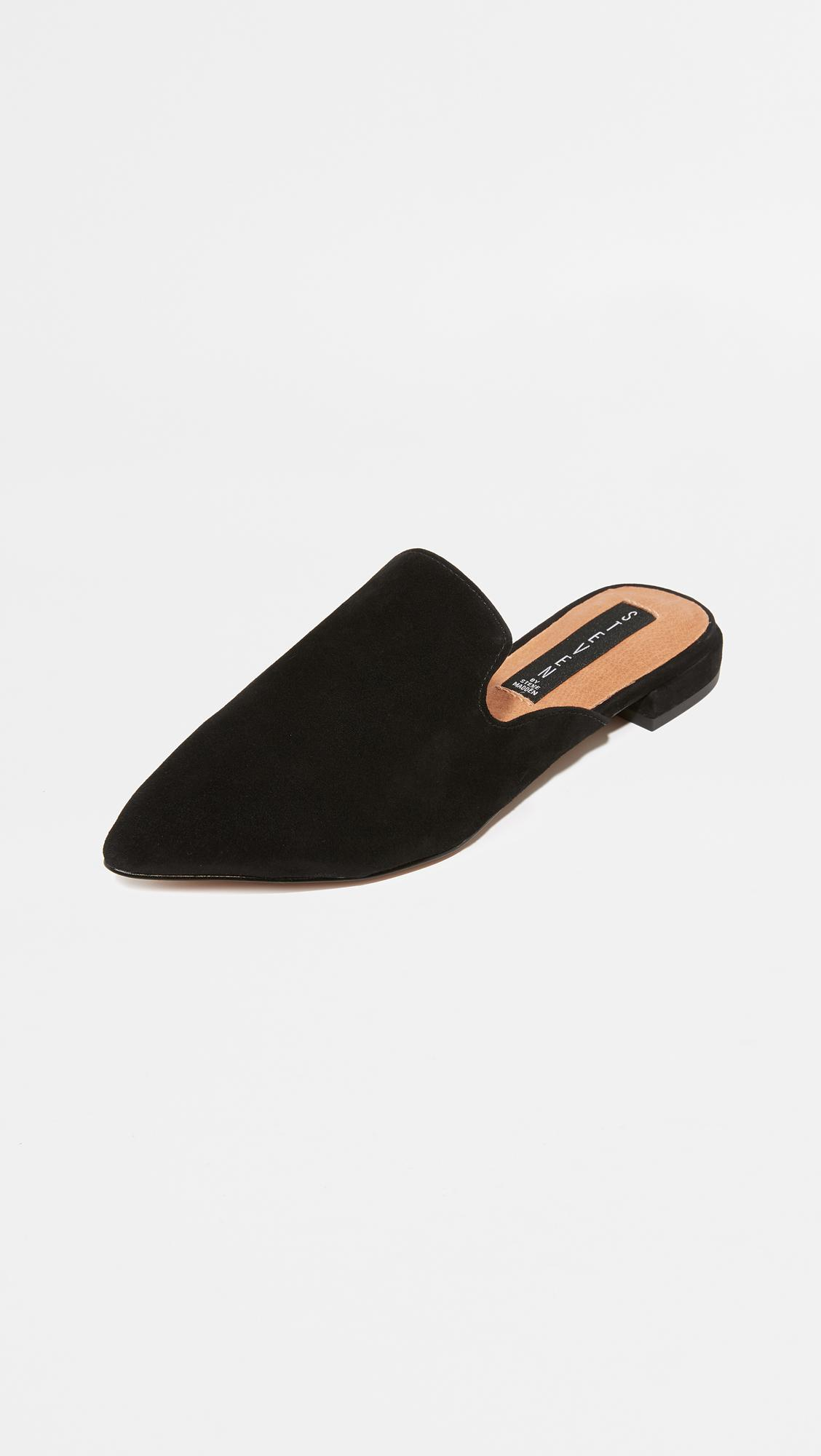 Steven by Steve Madden Valent Suede Mules OTRXulF