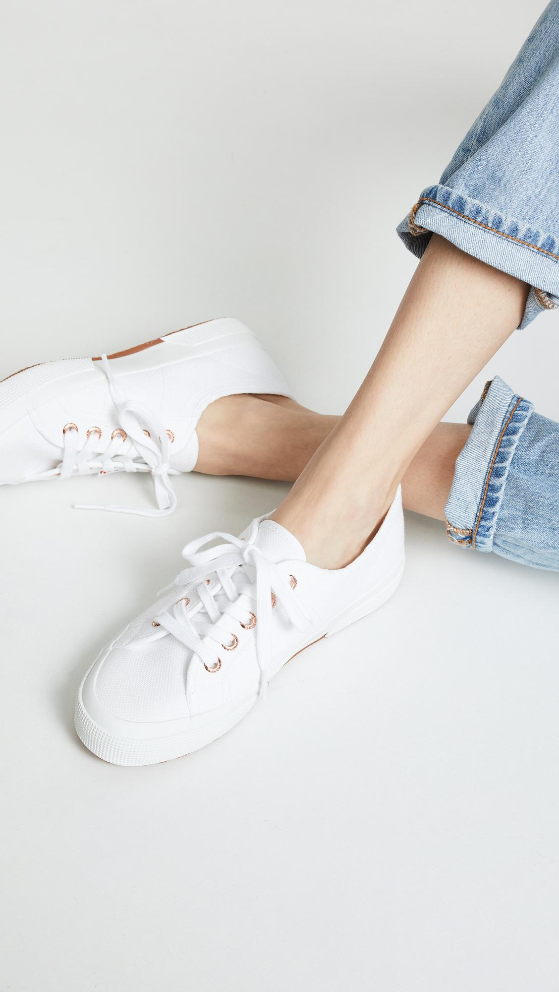 7213743150ff Superga - White 2750 Cotu Classic Sneakers - Lyst. View fullscreen