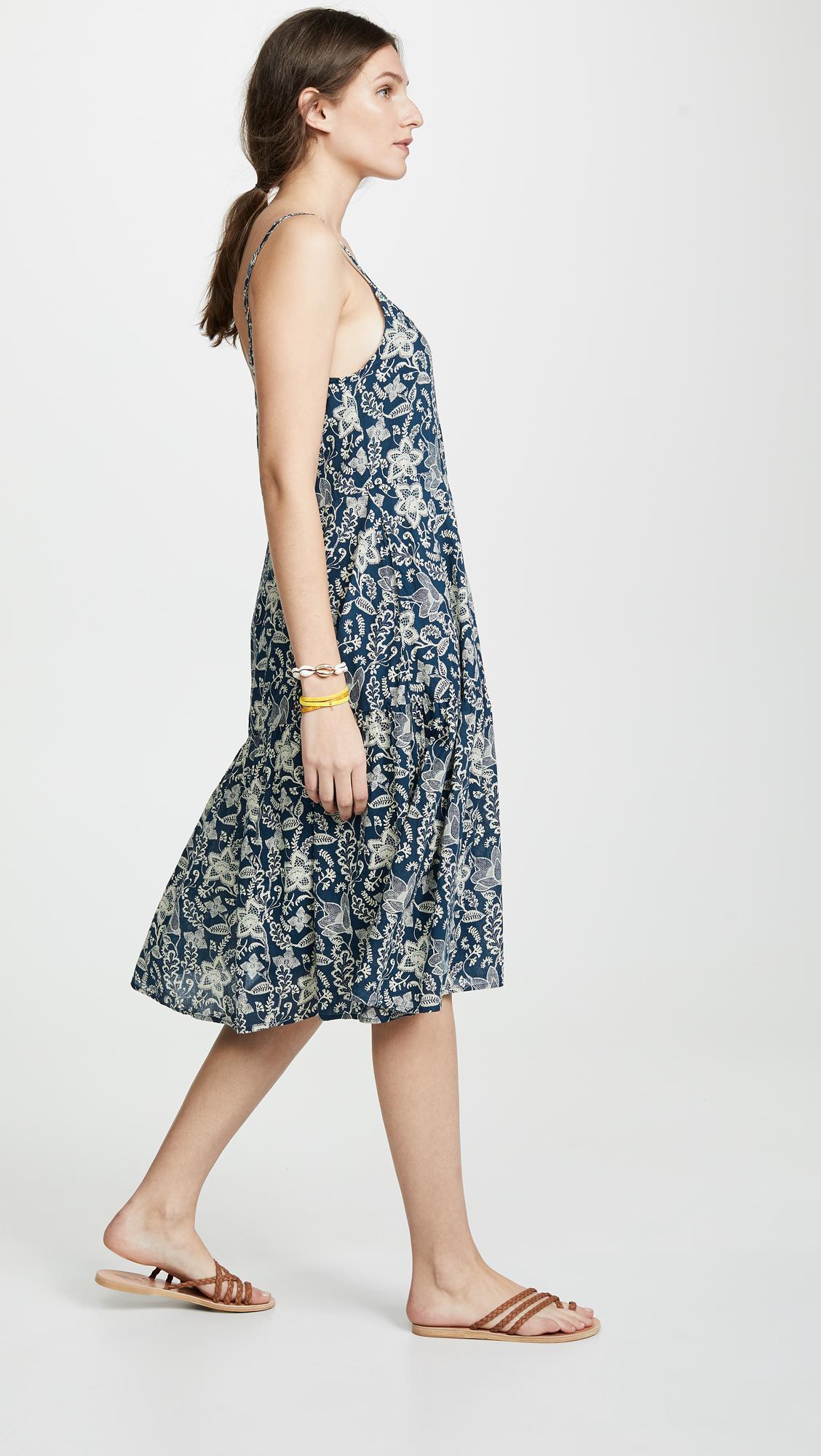 0e552c35b Roberta Roller Rabbit Pom Dakota Dress in Blue - Lyst