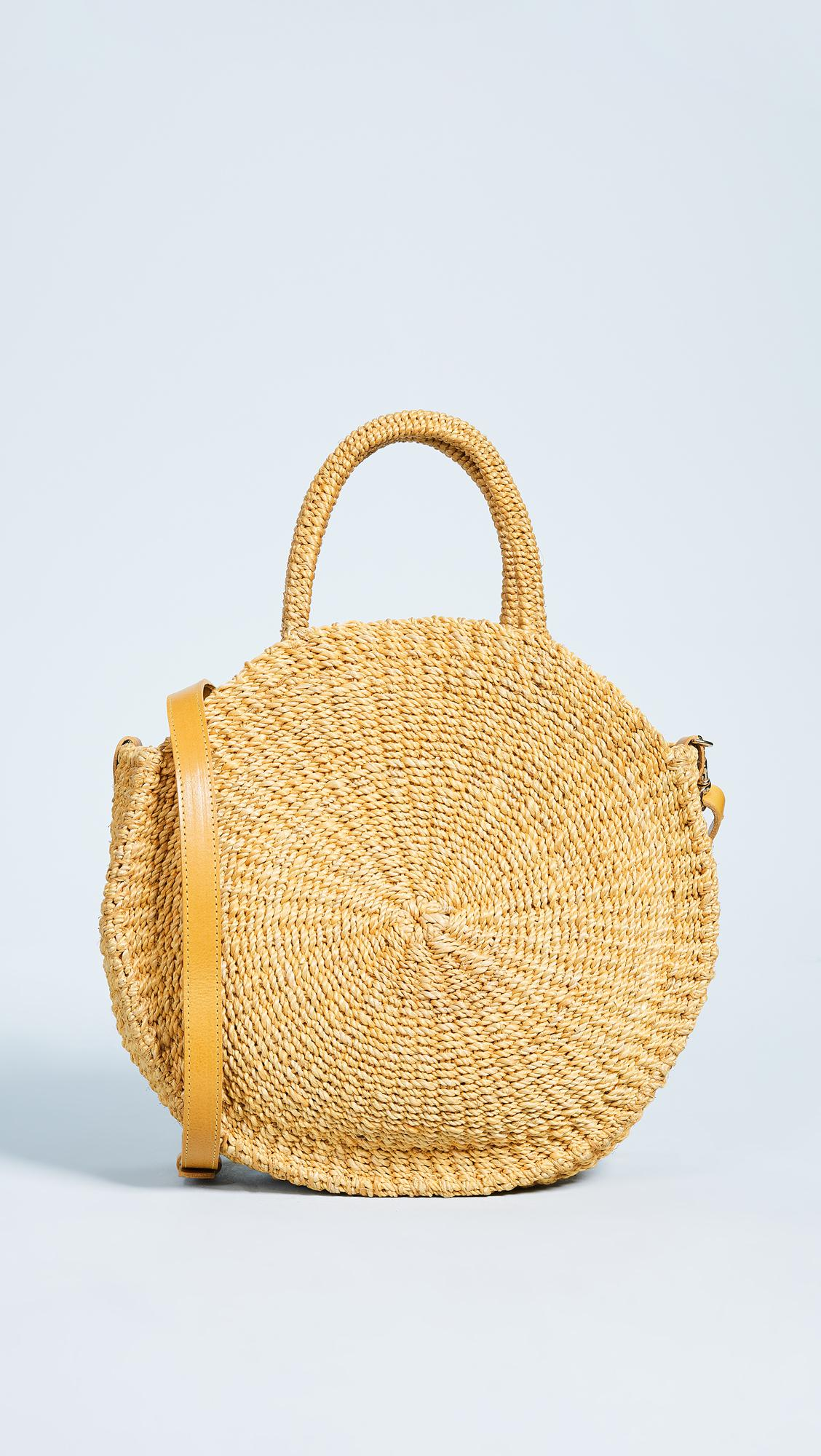 0209992b43 Clare V. Alice Maison Tote Bag in Yellow - Lyst